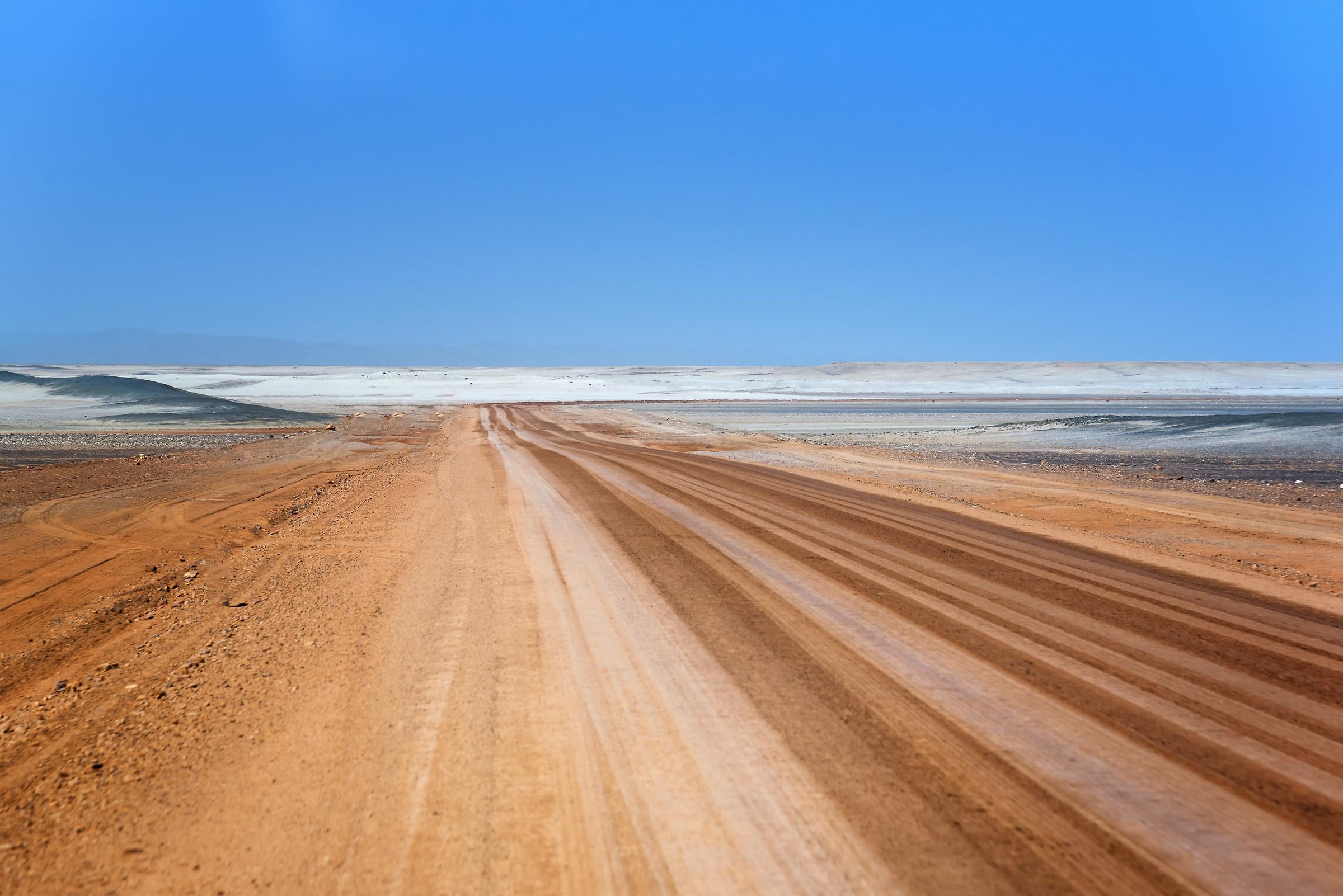 Strade di sale e sabbia...