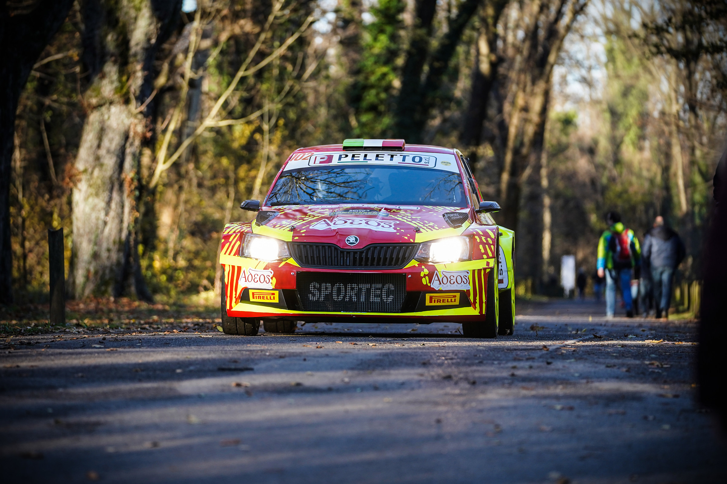 Skoda Fabia R5 at the Monza Rally Show...