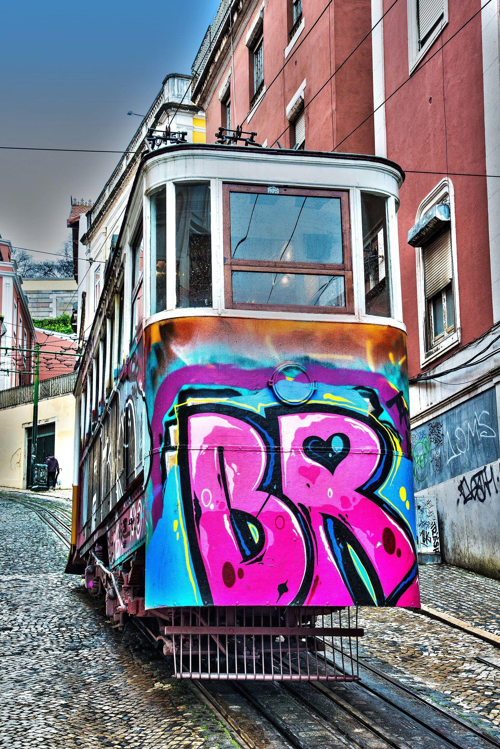 The Lisbon tram...