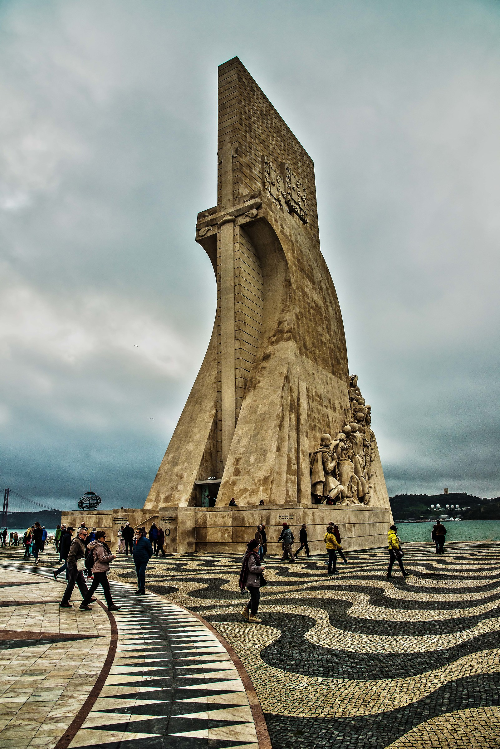 Monument to the discoveries of Lisbon...