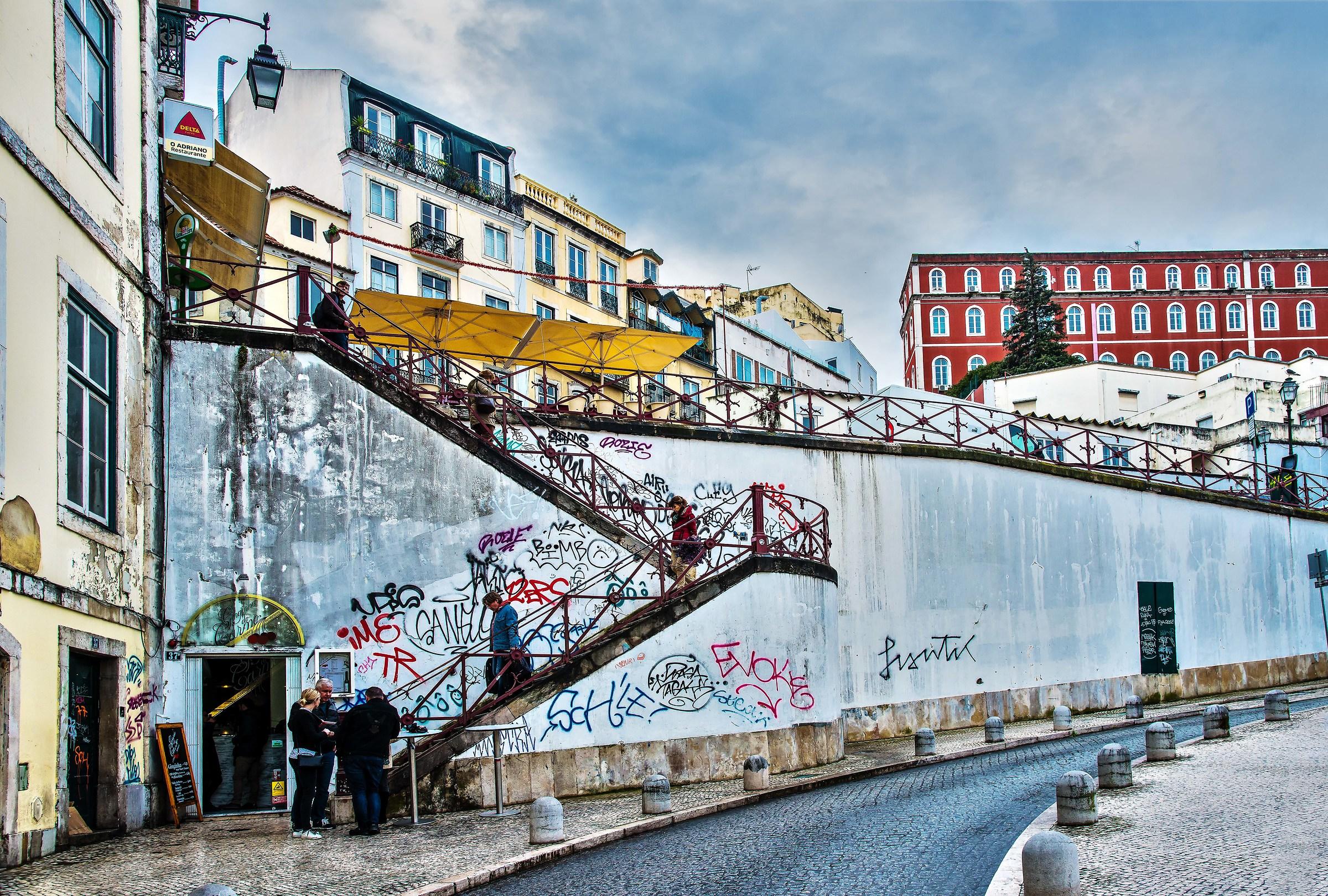 Glimpse of Lisbon...