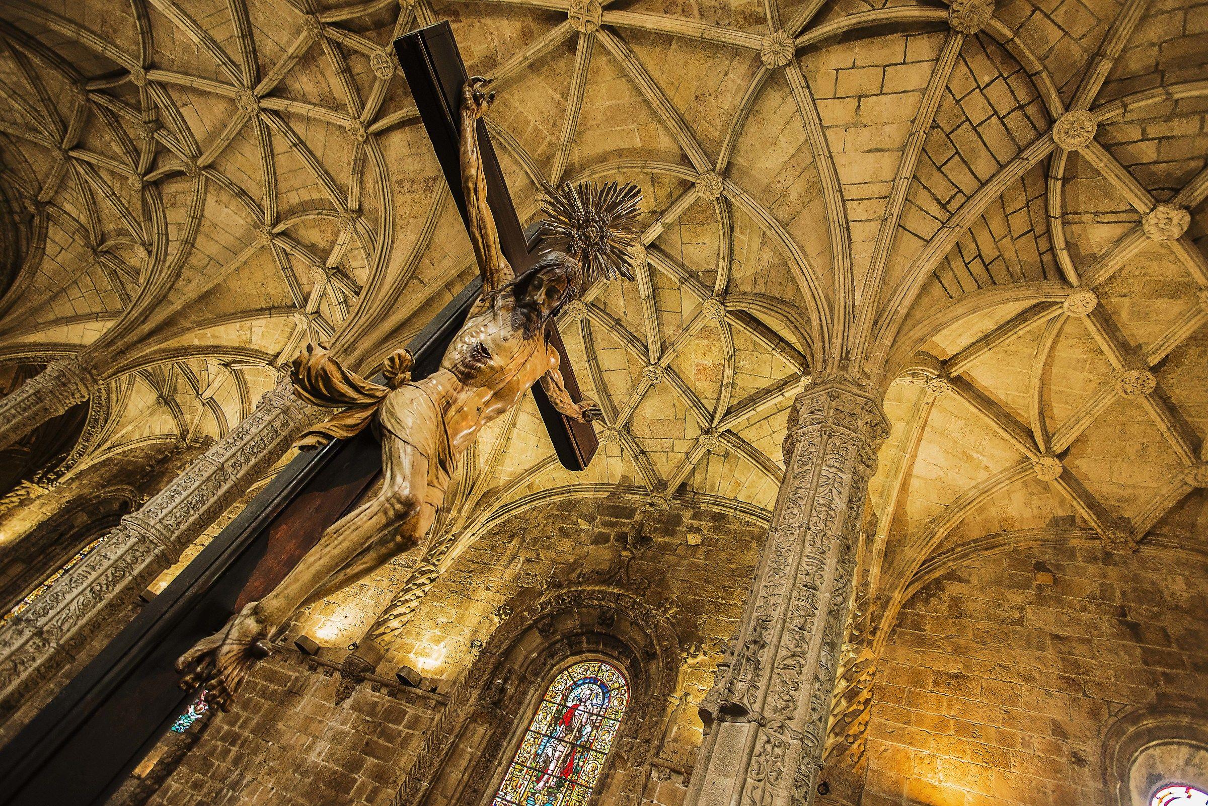 Monastery of San Gernimo Lisbon Interior 3...