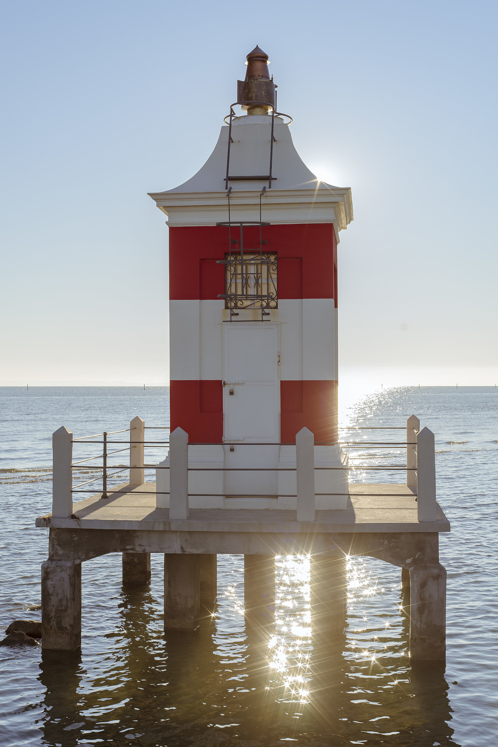 Red Lighthouse of Lignano Sabbiadoro ...