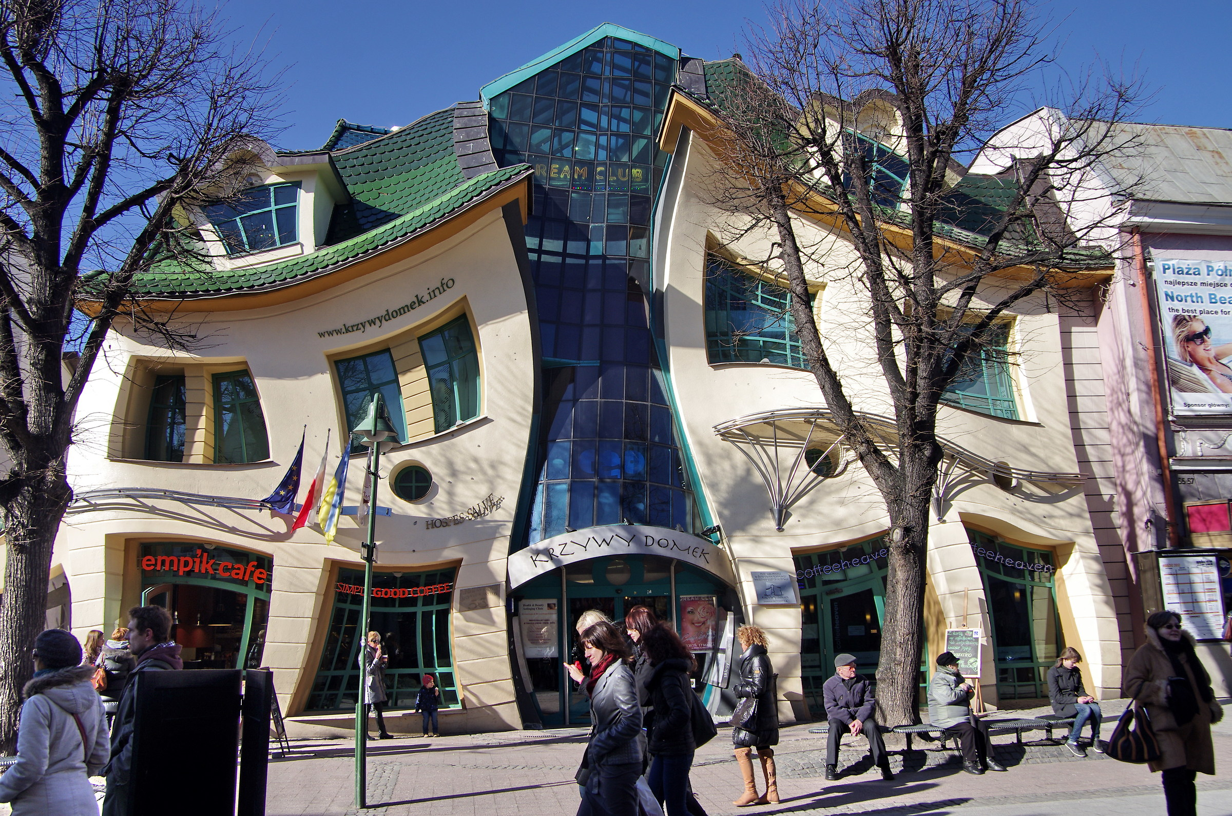 Crooked house in Sopot...