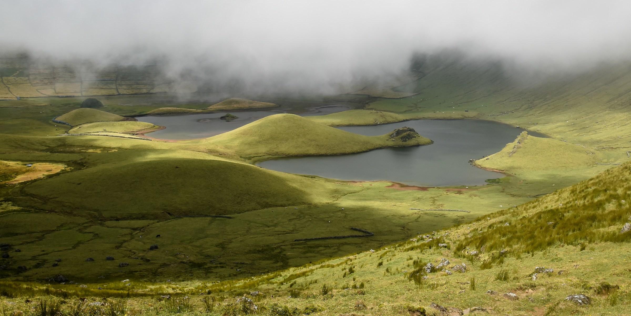 Caldeira, Corvo Island, Acores...