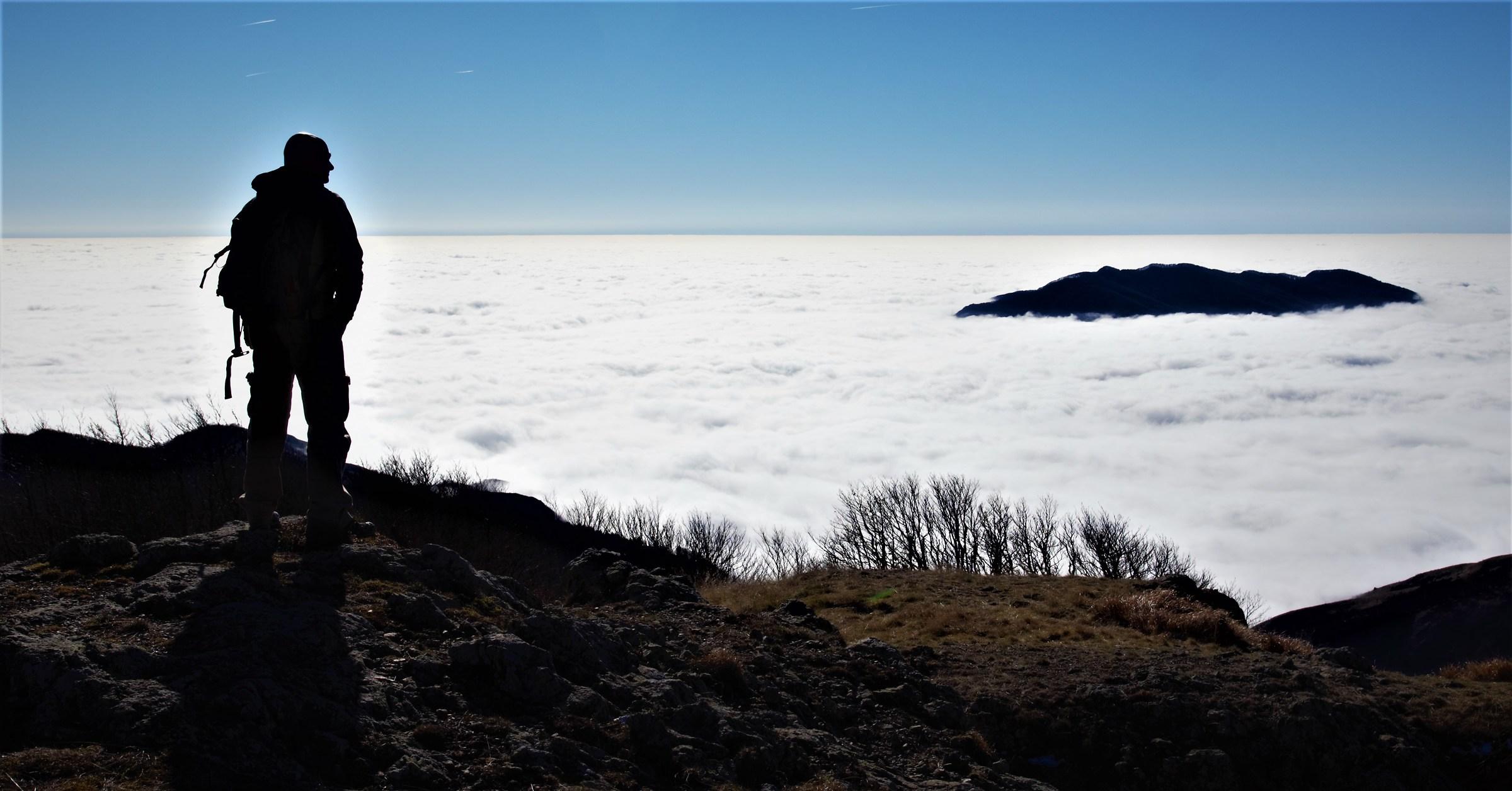 Un mare di nuvole...
