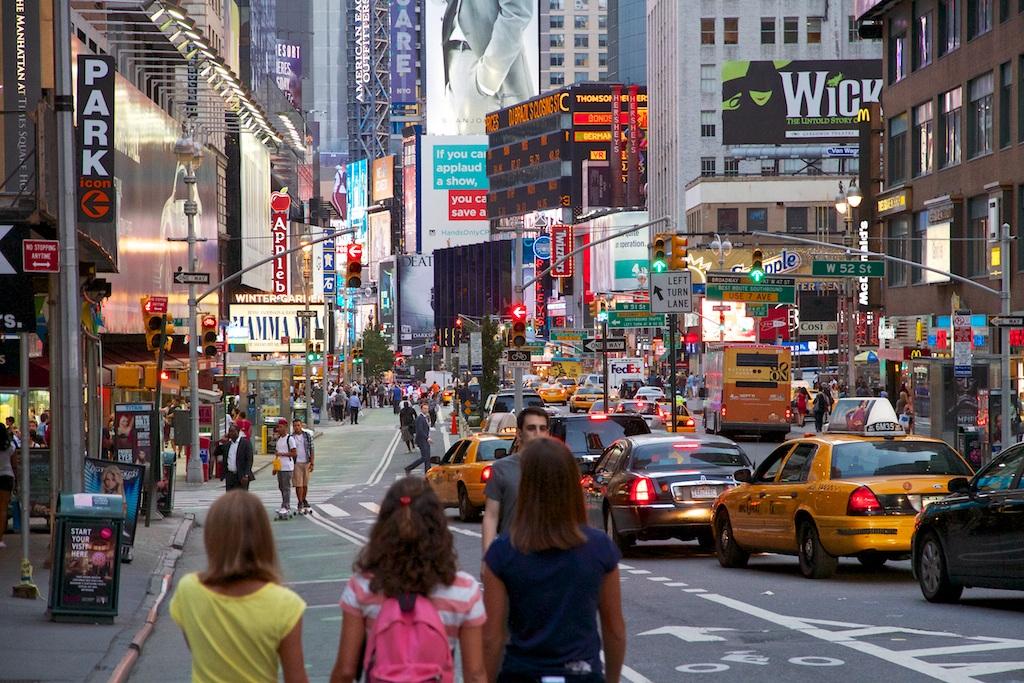 Broadway...