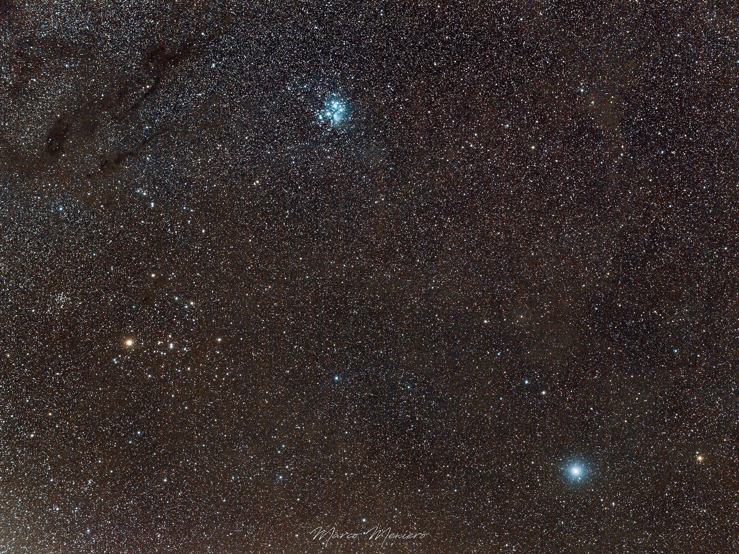 Pleiadi, Iadi e la Cometa 46P/Wirtanen...