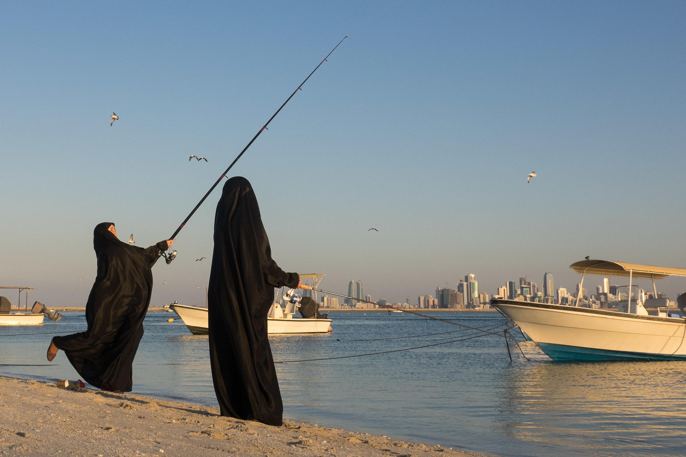 Fishing allowed...