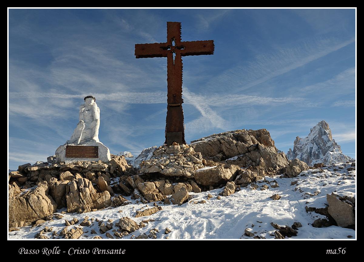 Monte Castellazzo - Thinking Christ...