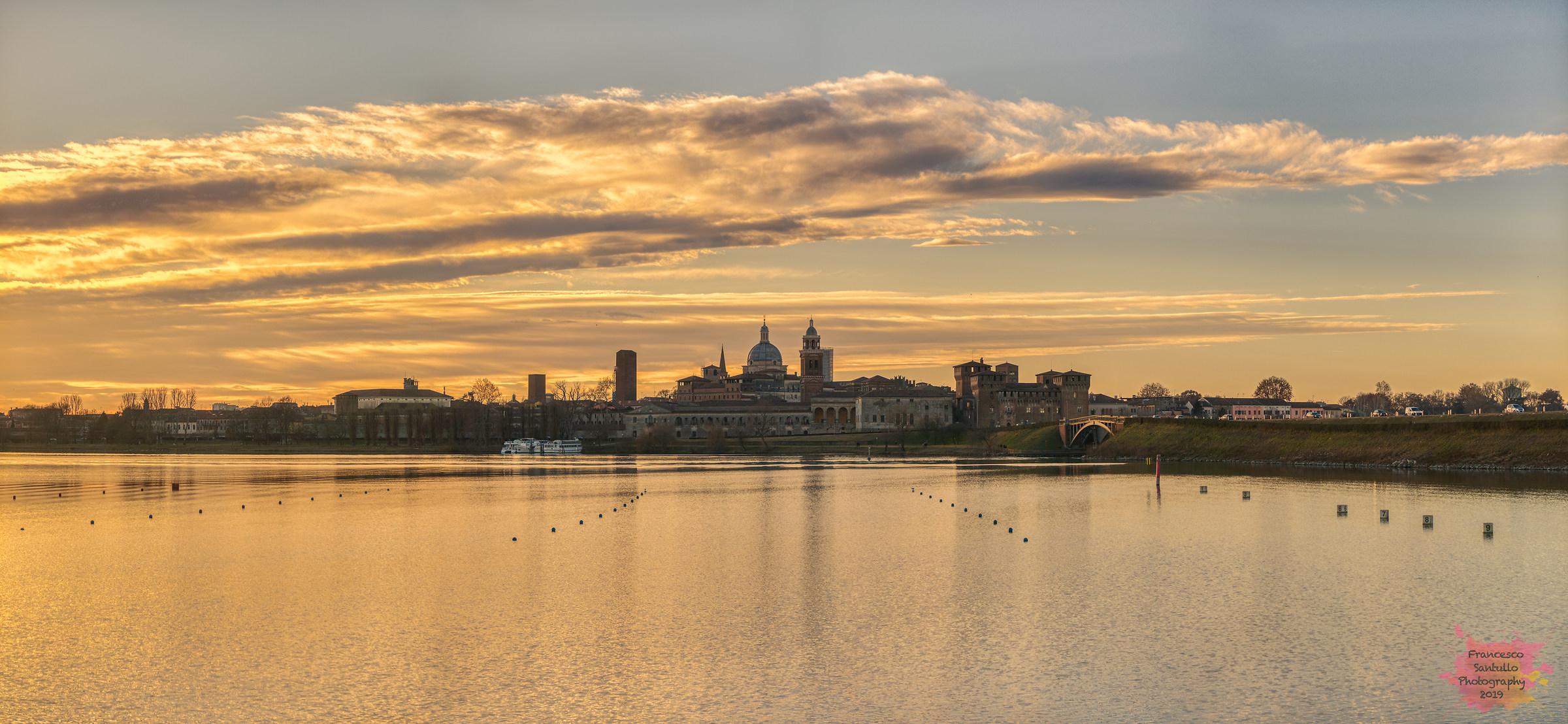 Mantova Sunset....