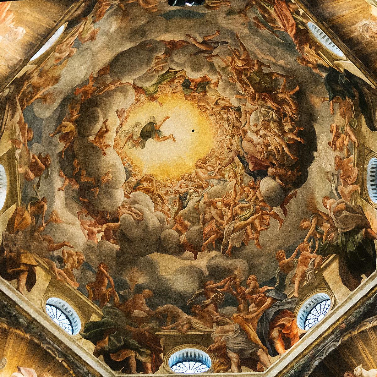In the vortex of Correggio...