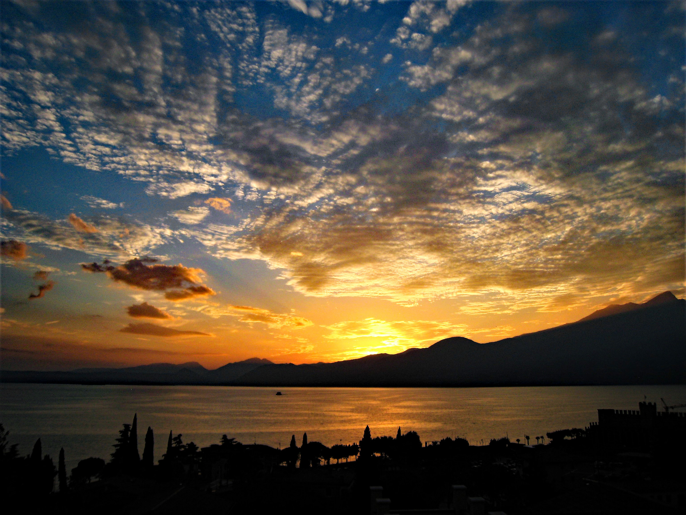 Sunset in Garda...