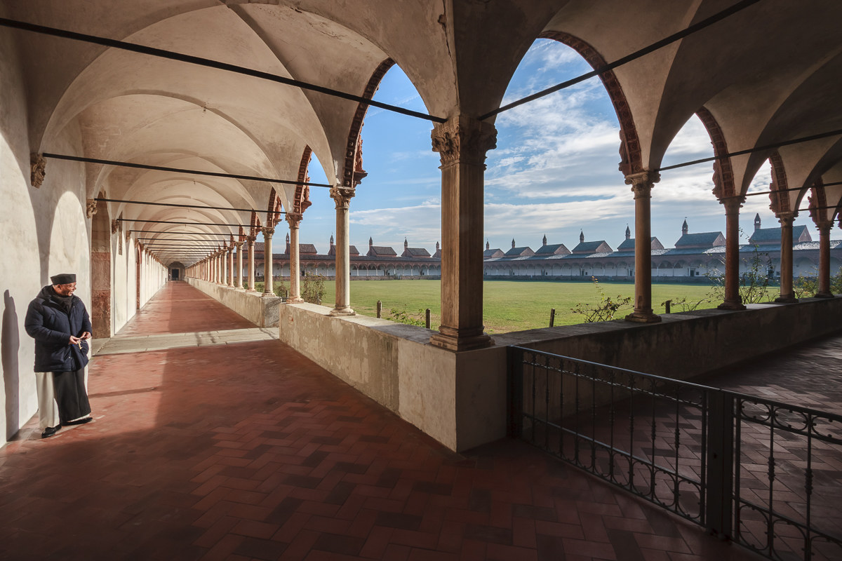 Pavia ... le 24 celle della Certosa...