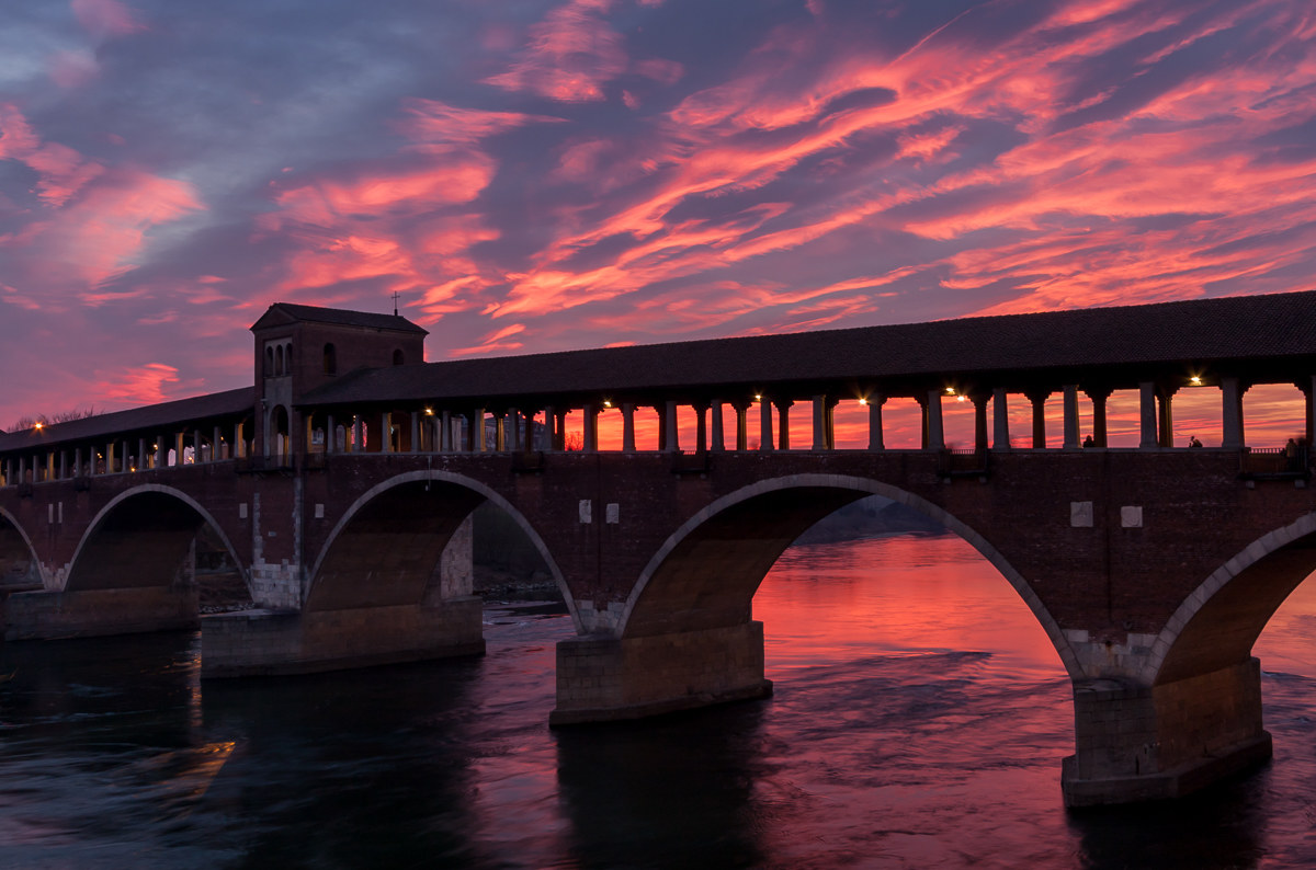 Under the sky of Pavia......