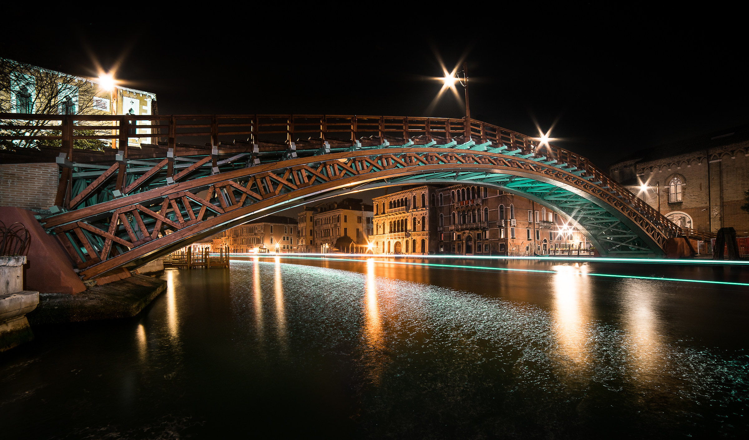 Accademia Light Painting...