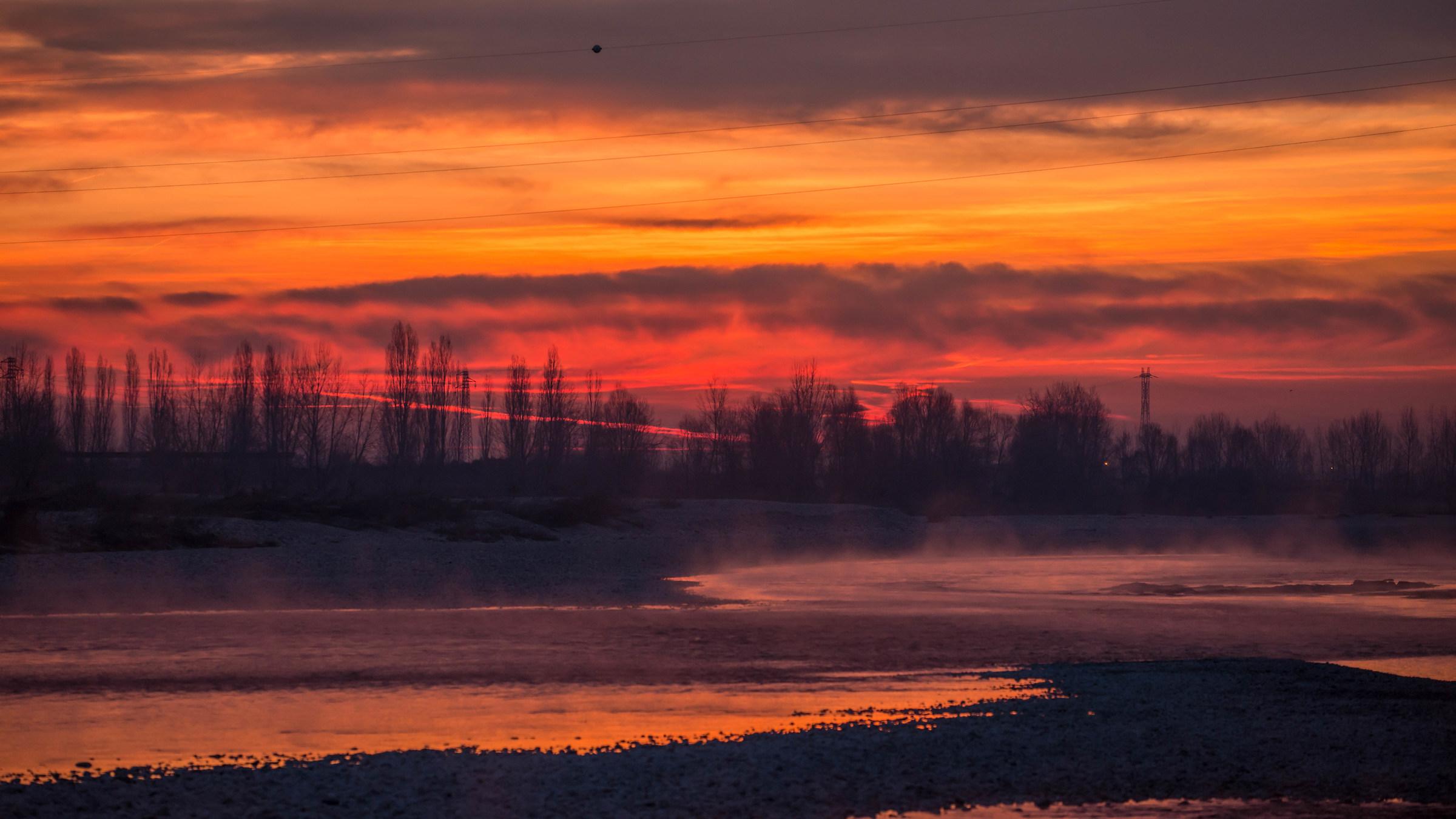 Sunrise or sunset?...