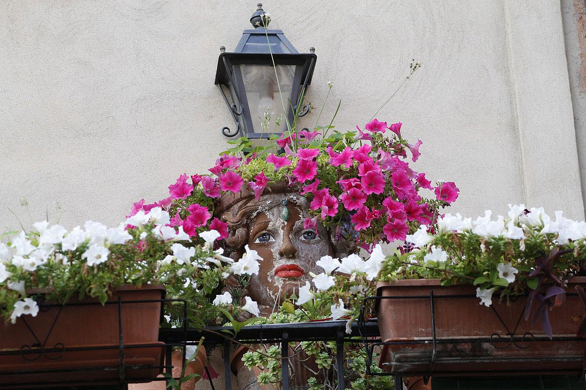 Taormina (Me) - Balcony Old Town...