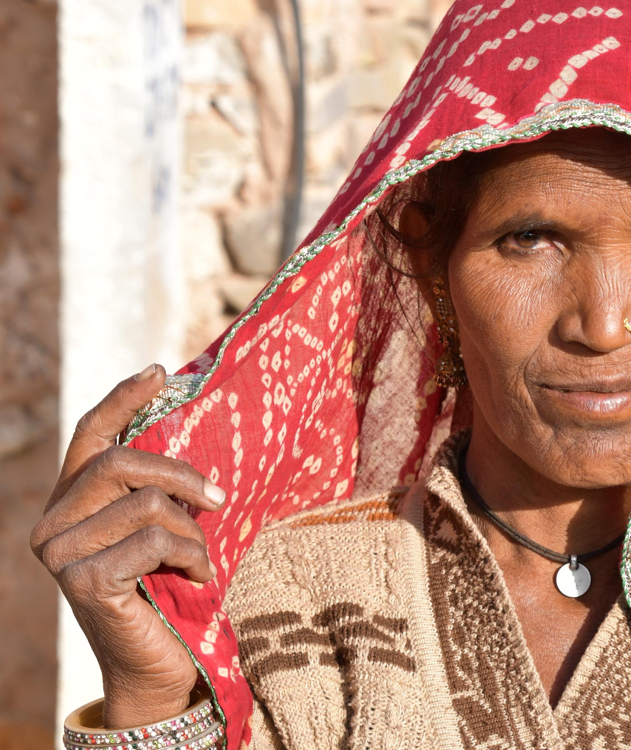 Woman in Mandawa...