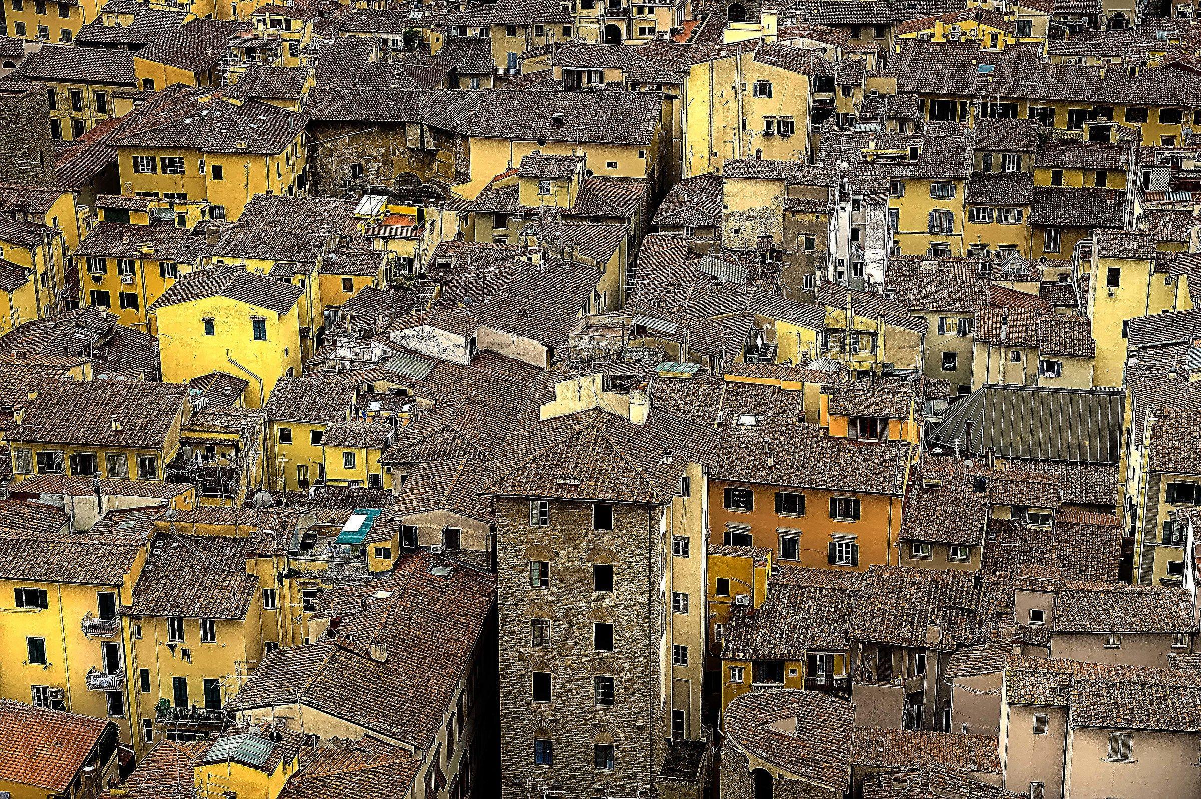 Florentine roofs...
