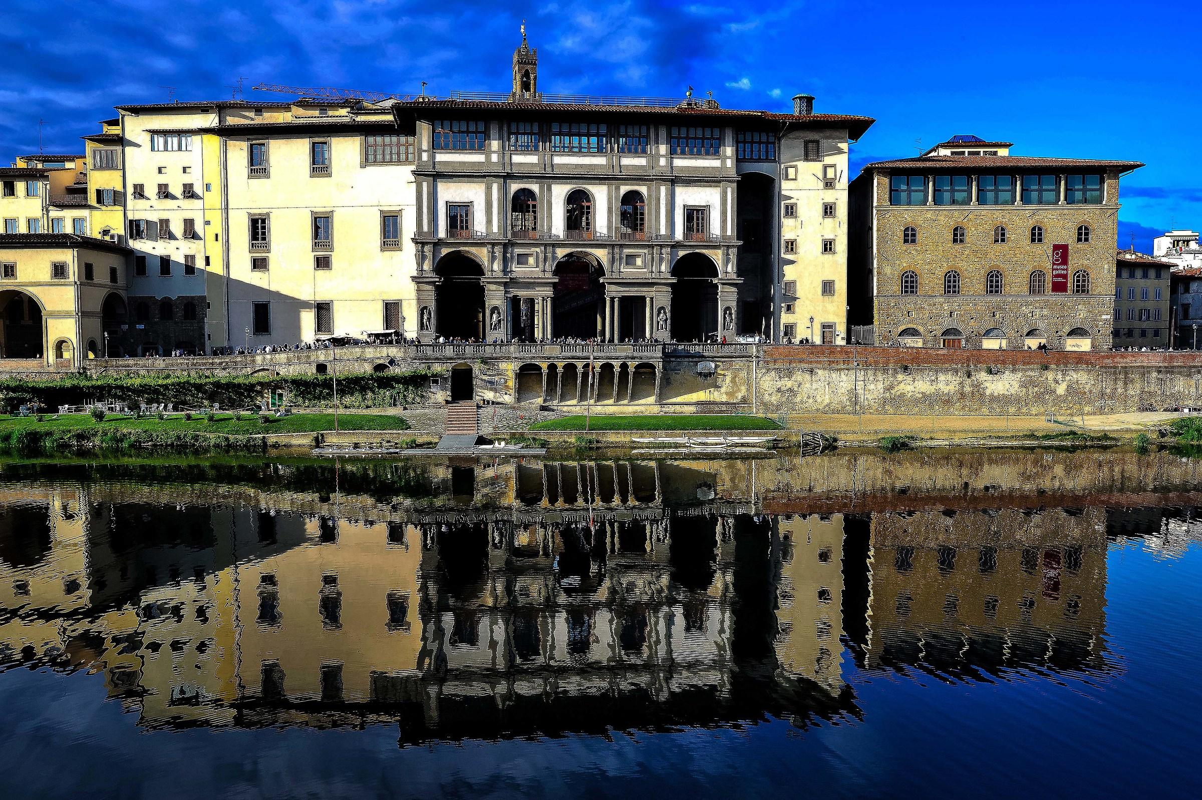The Uffizi...
