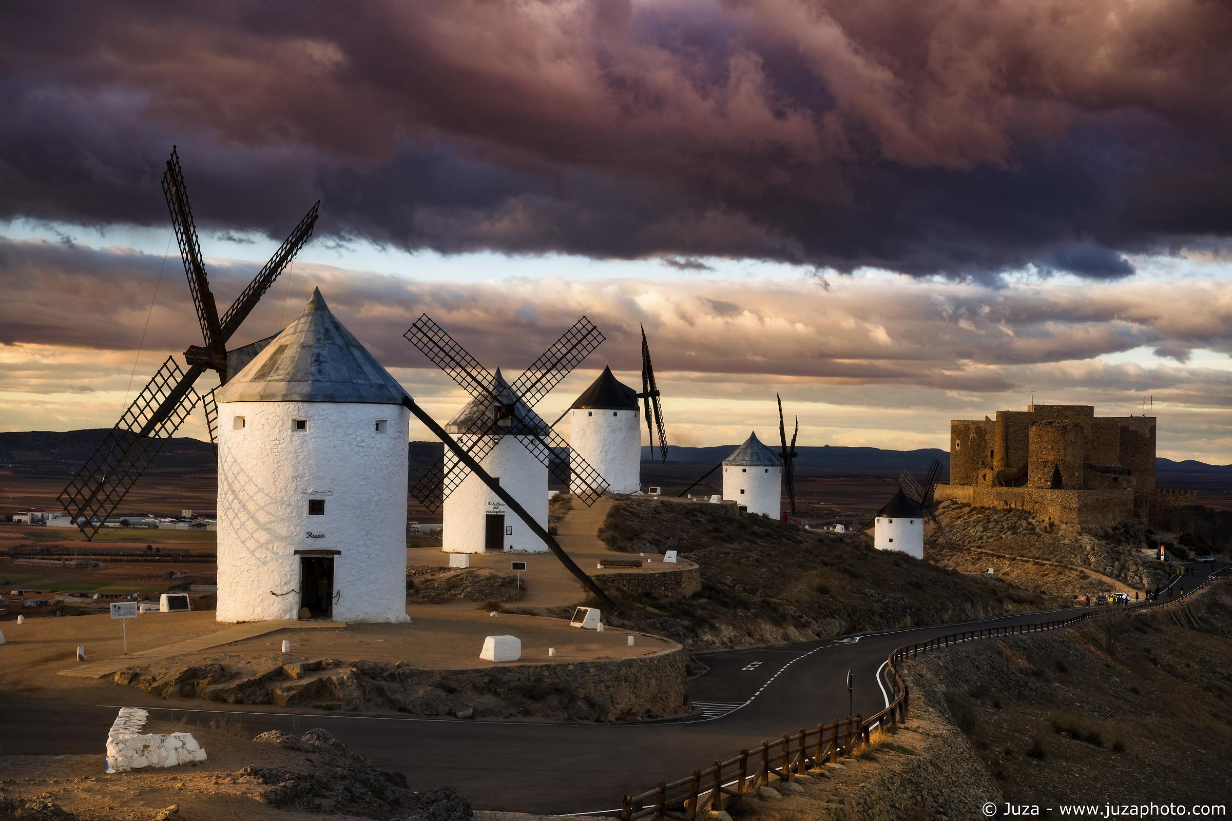The mills of Consuegra...