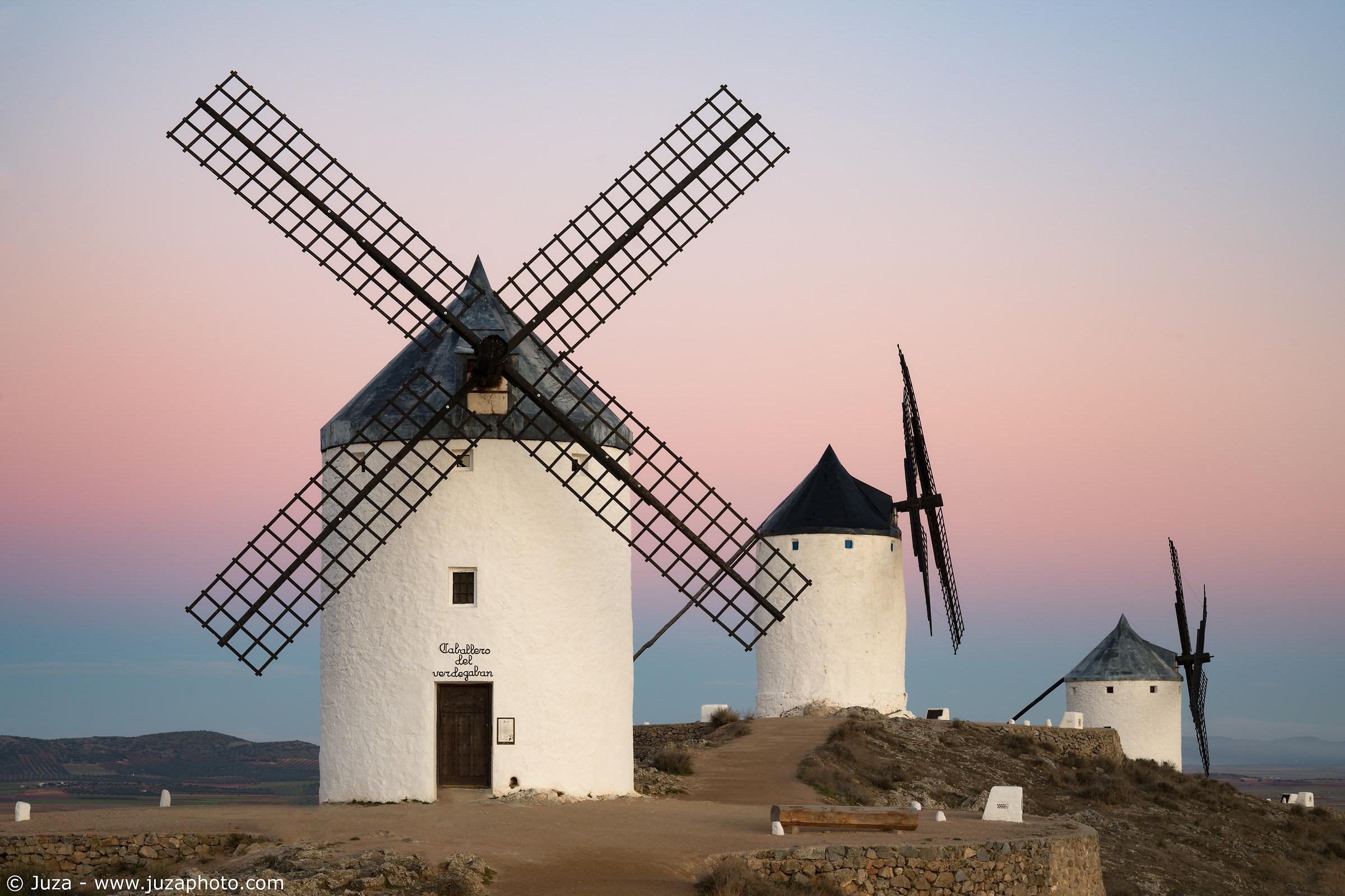 The mills of Don Quixote...
