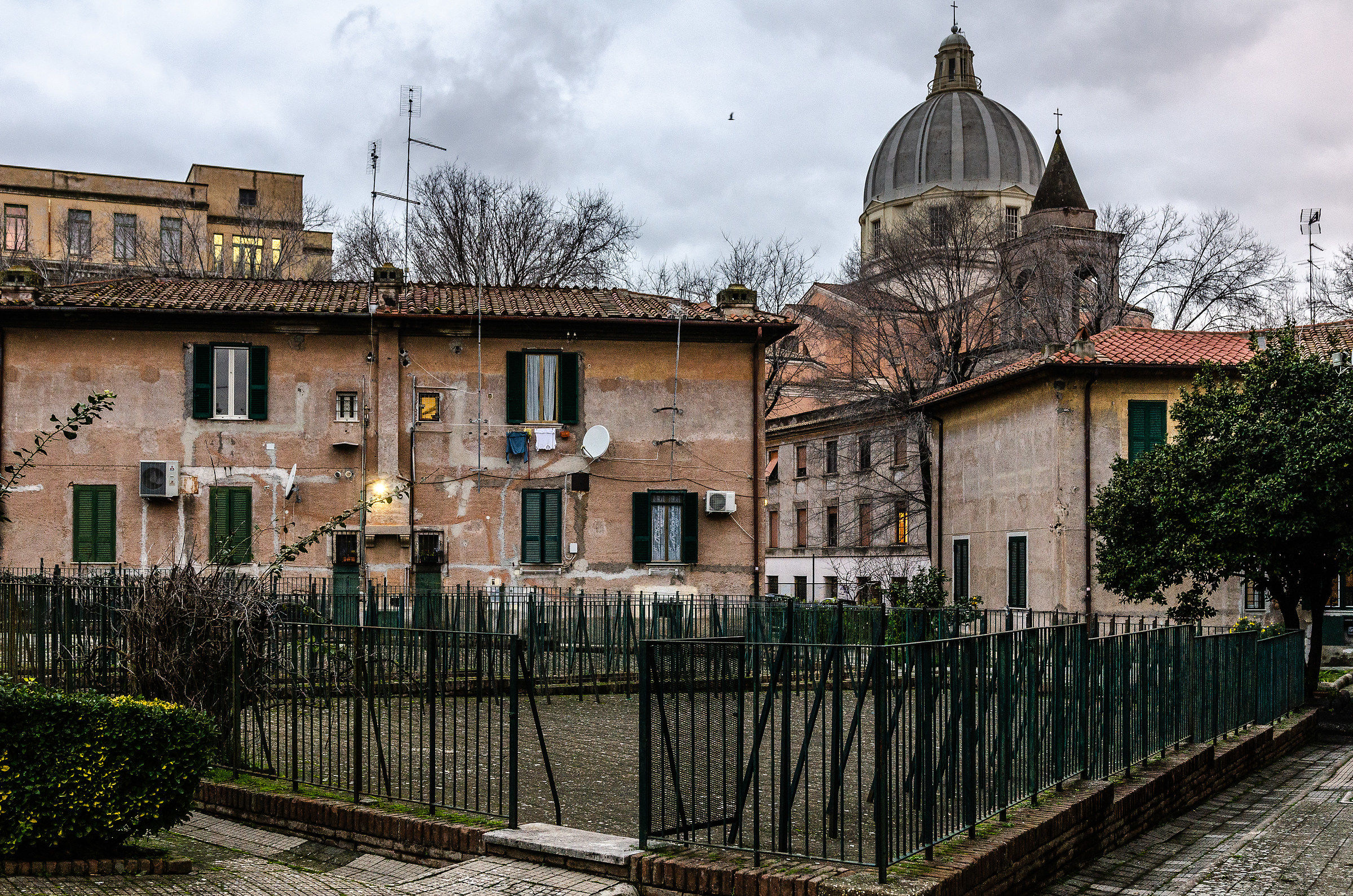 Lost in the alleys of a vanished Rome...
