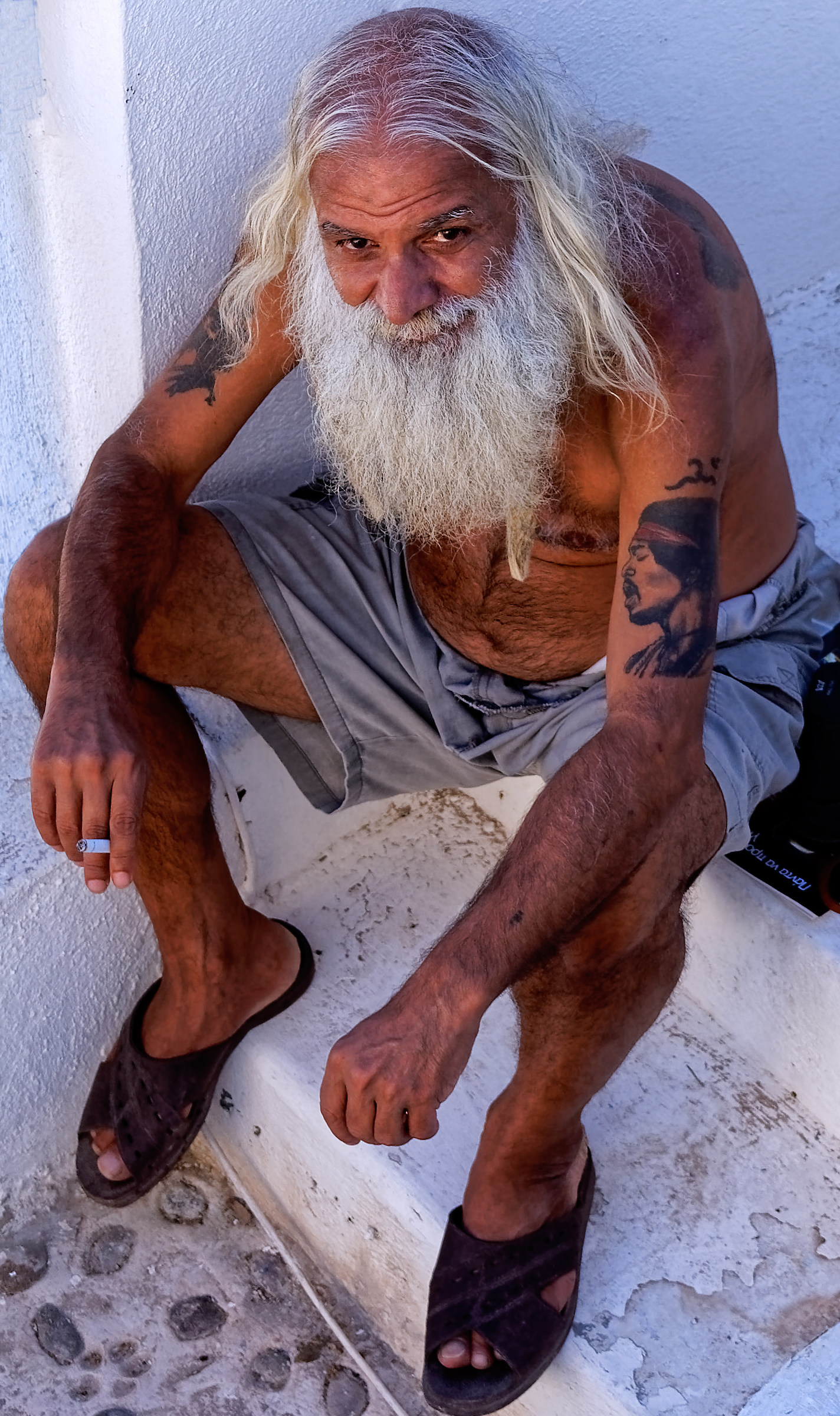 The old fisherman...