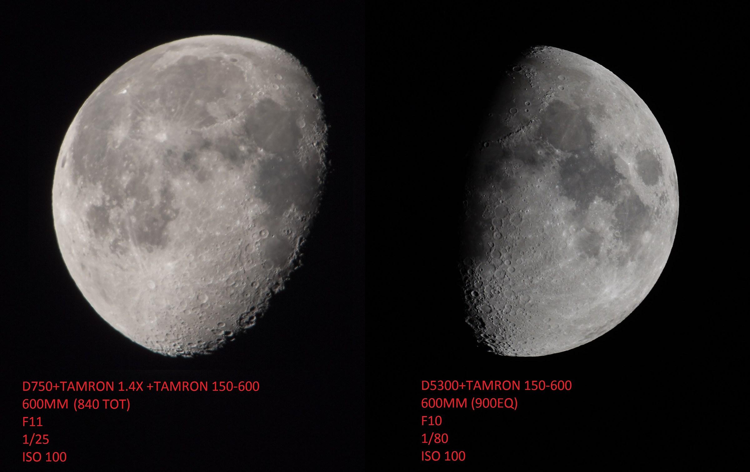 FF DX Comparison...