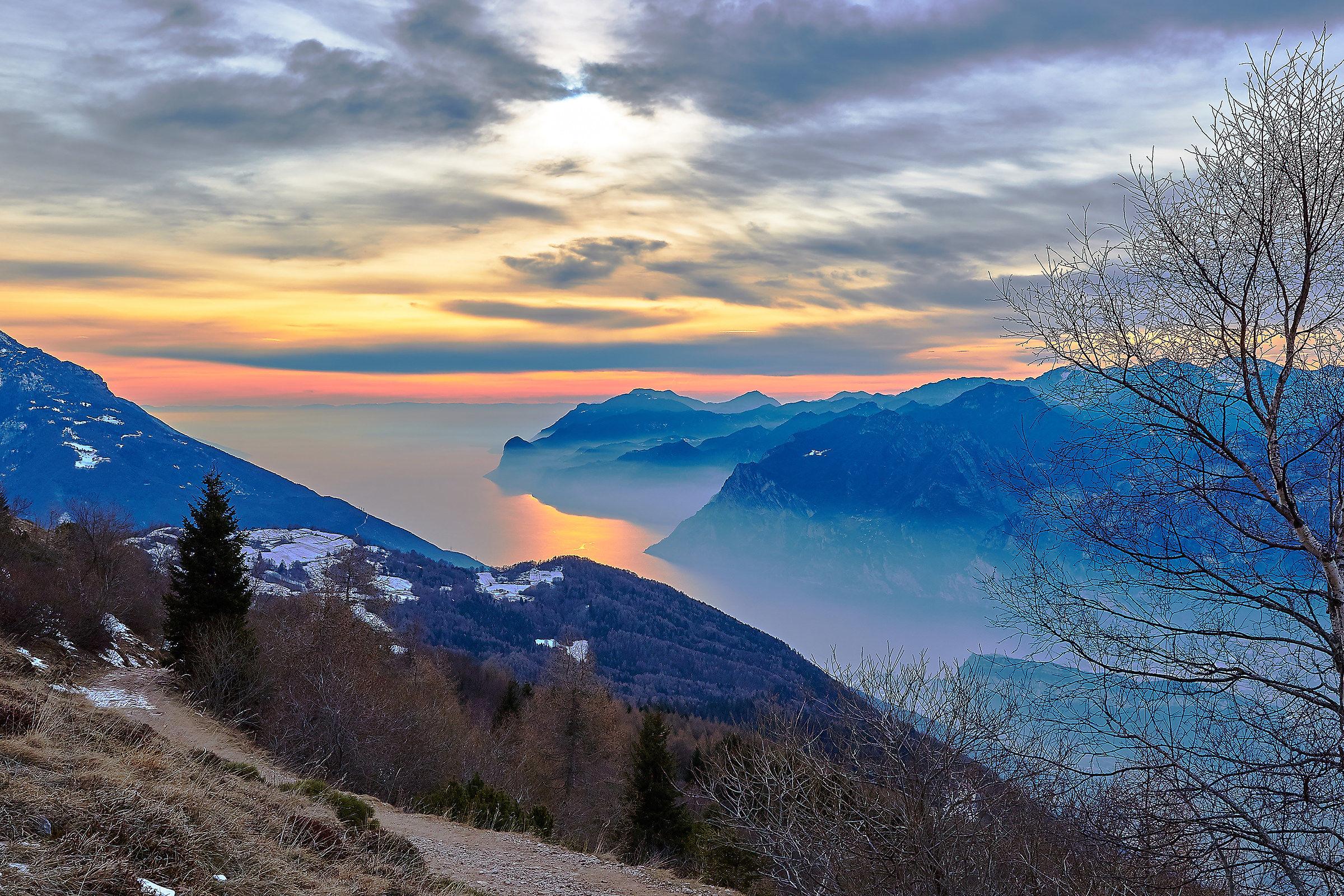 Monte Stivo-Lake Garda, Italy...