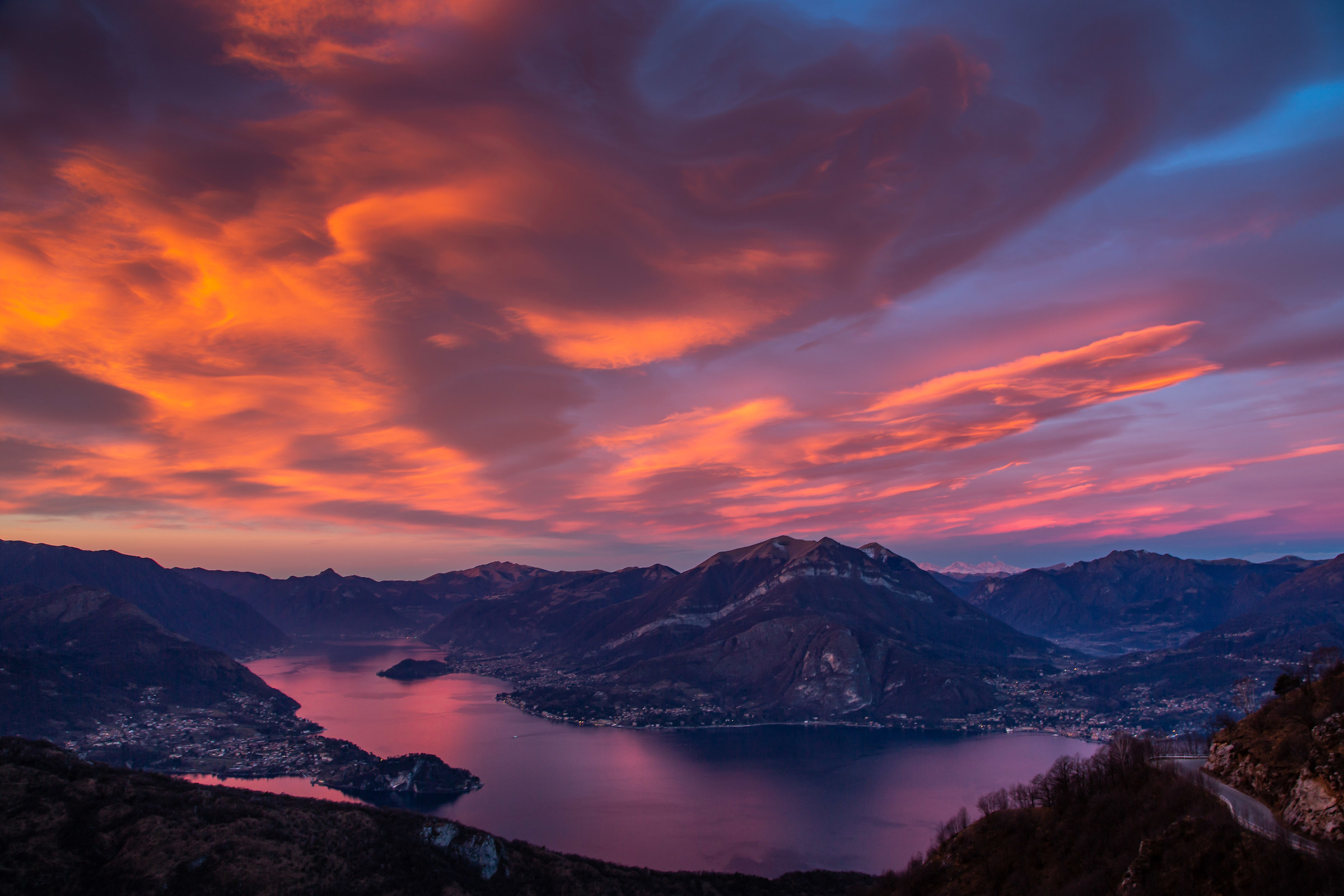 A look on the Lario....