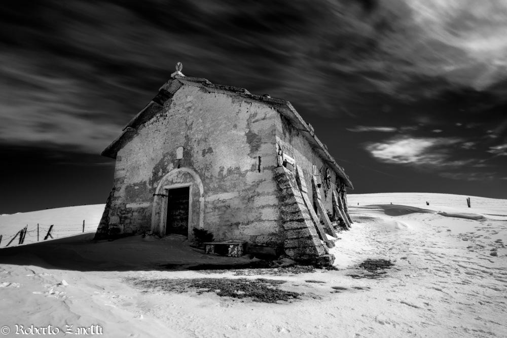 Gasparine Hut below...