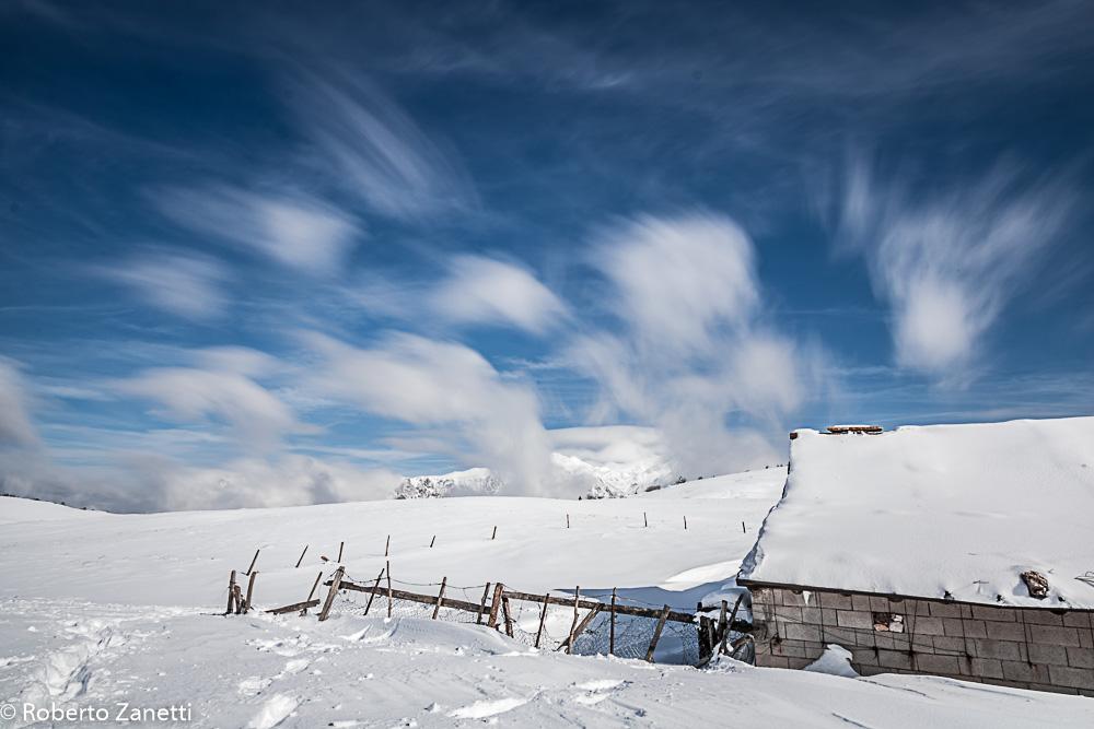 Clouds in turmoil...