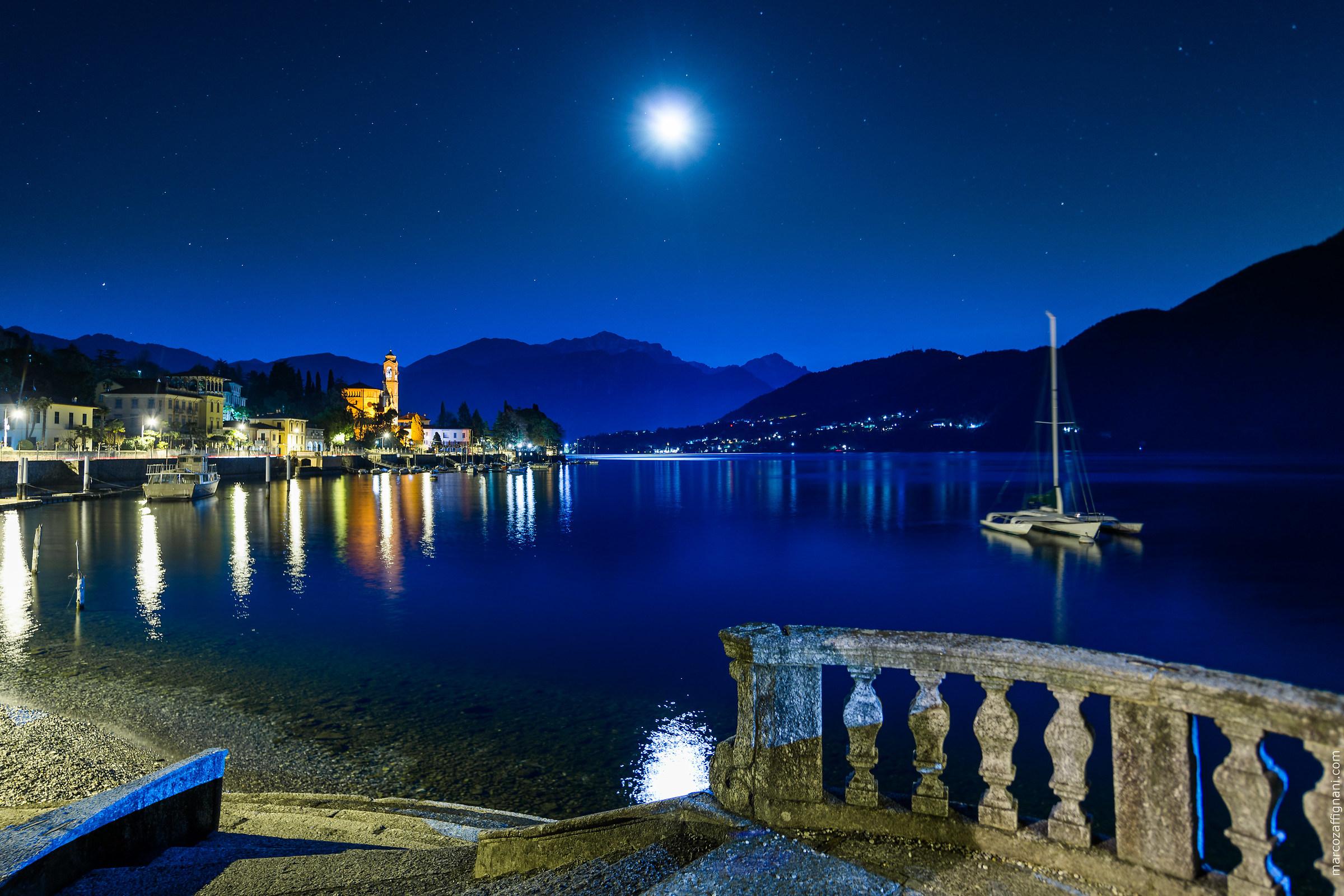 Tremezzo in the Moonlight, Lake Como (2019)...