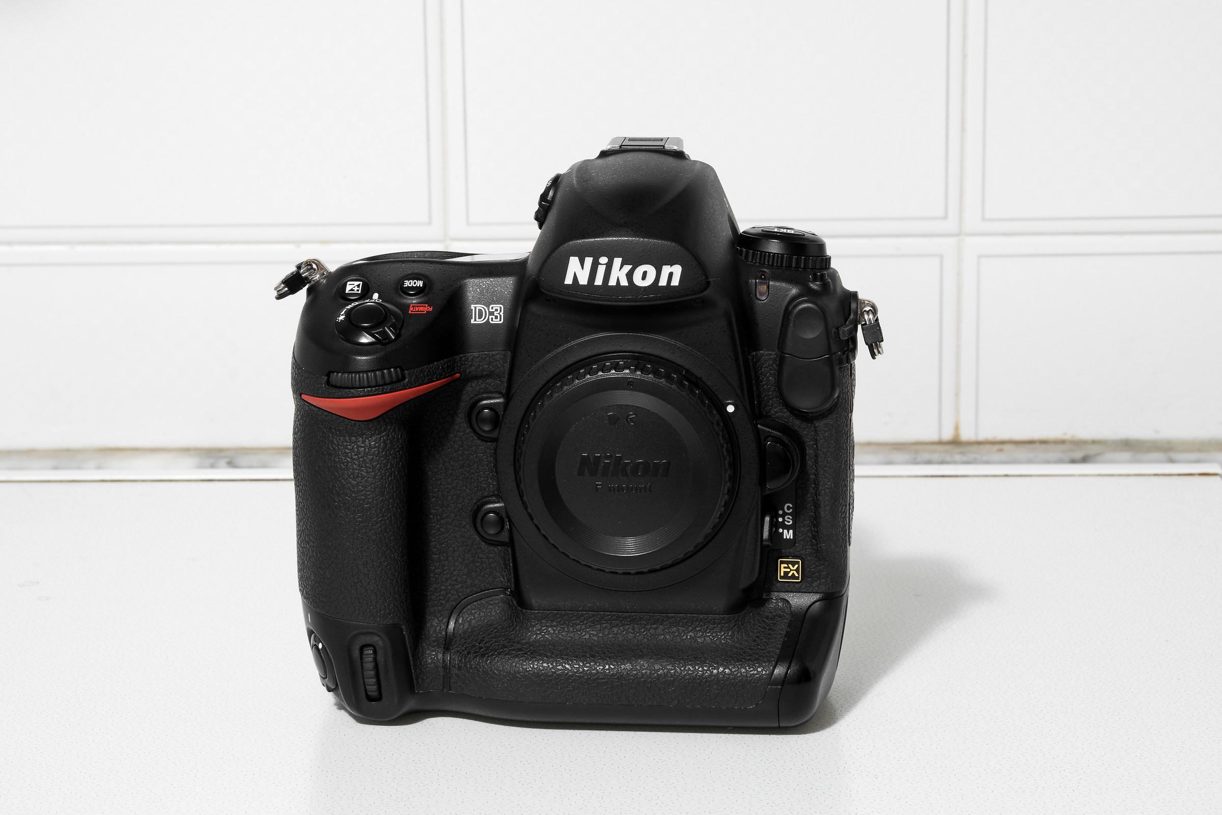 Nikon D3...