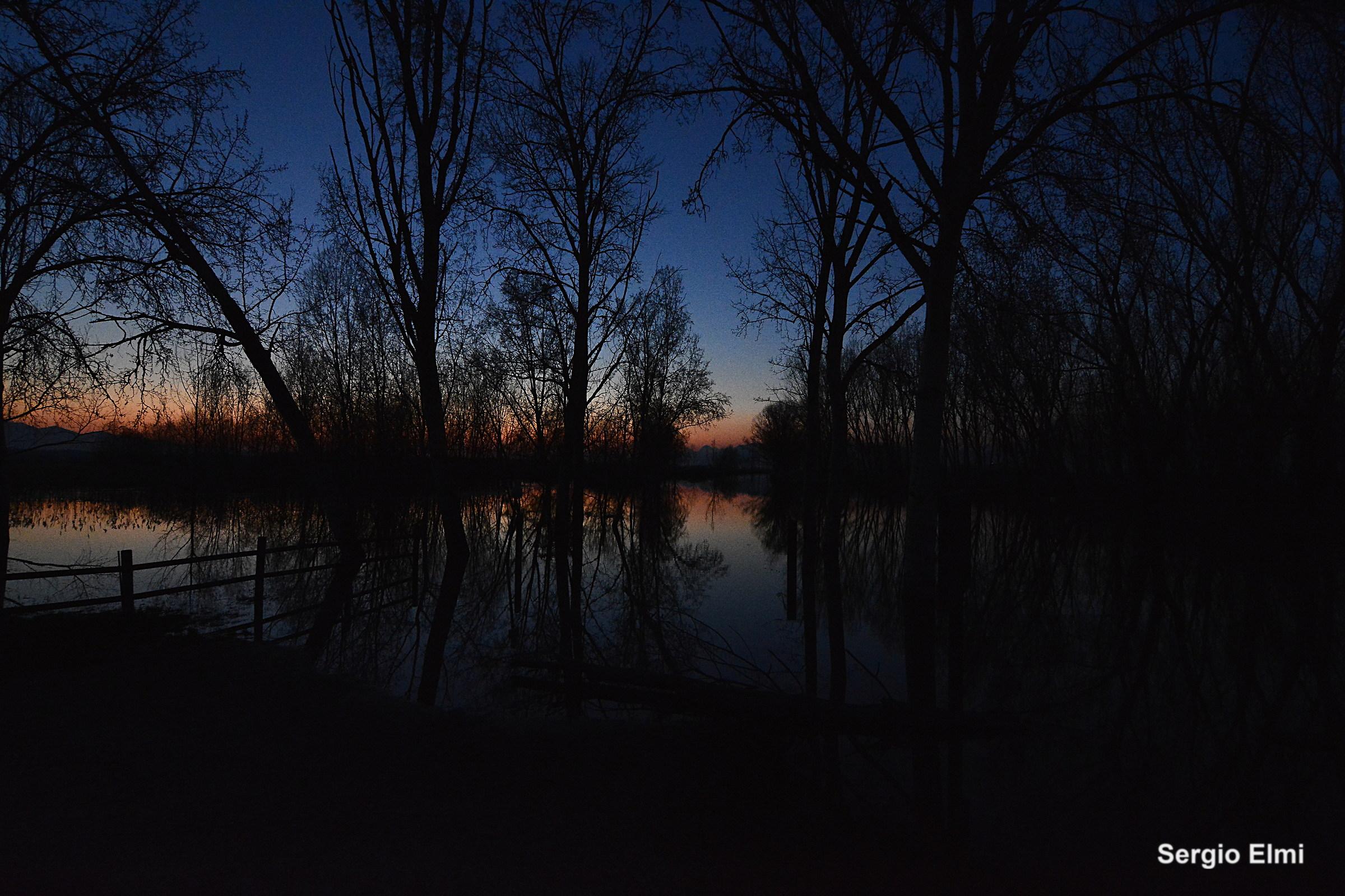 Ombre dopo il tramonto...