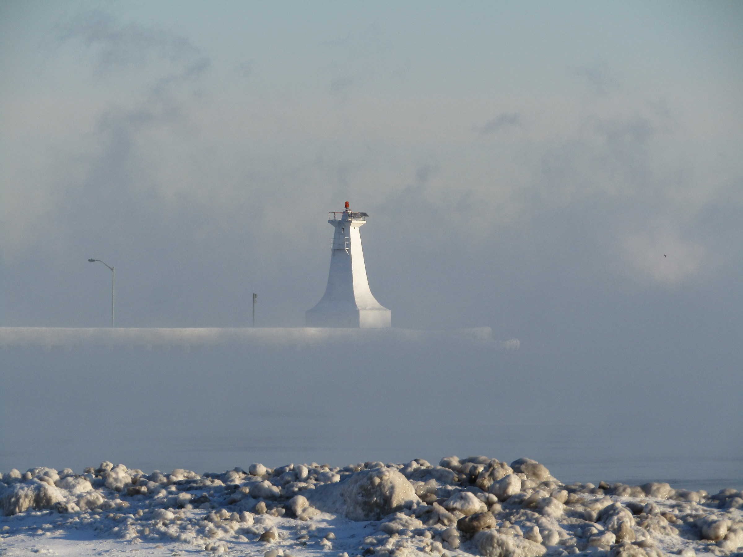 Lake Ontario - Lighthouse in the Fog...