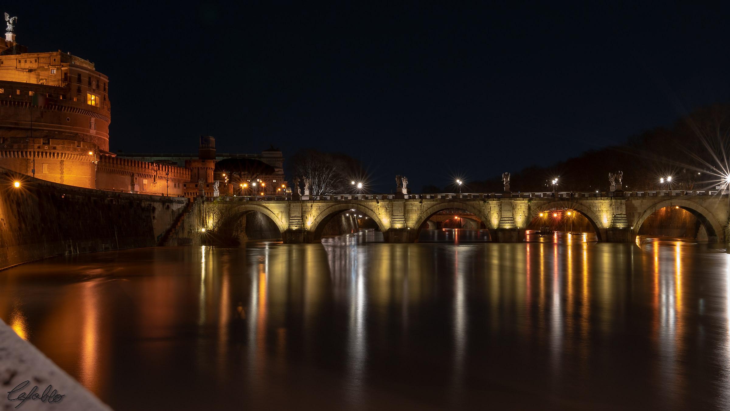 Along the Tiber......