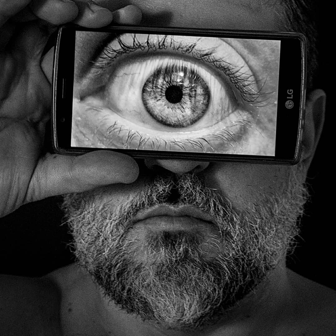 Cyclops, self-portrait...