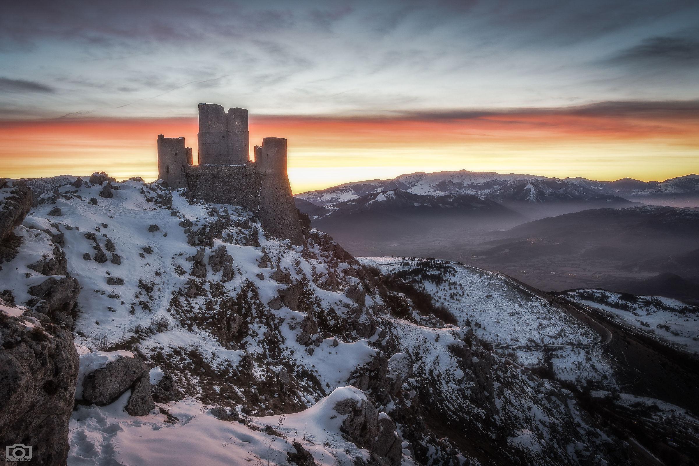 Castle of Rocca Calascio...