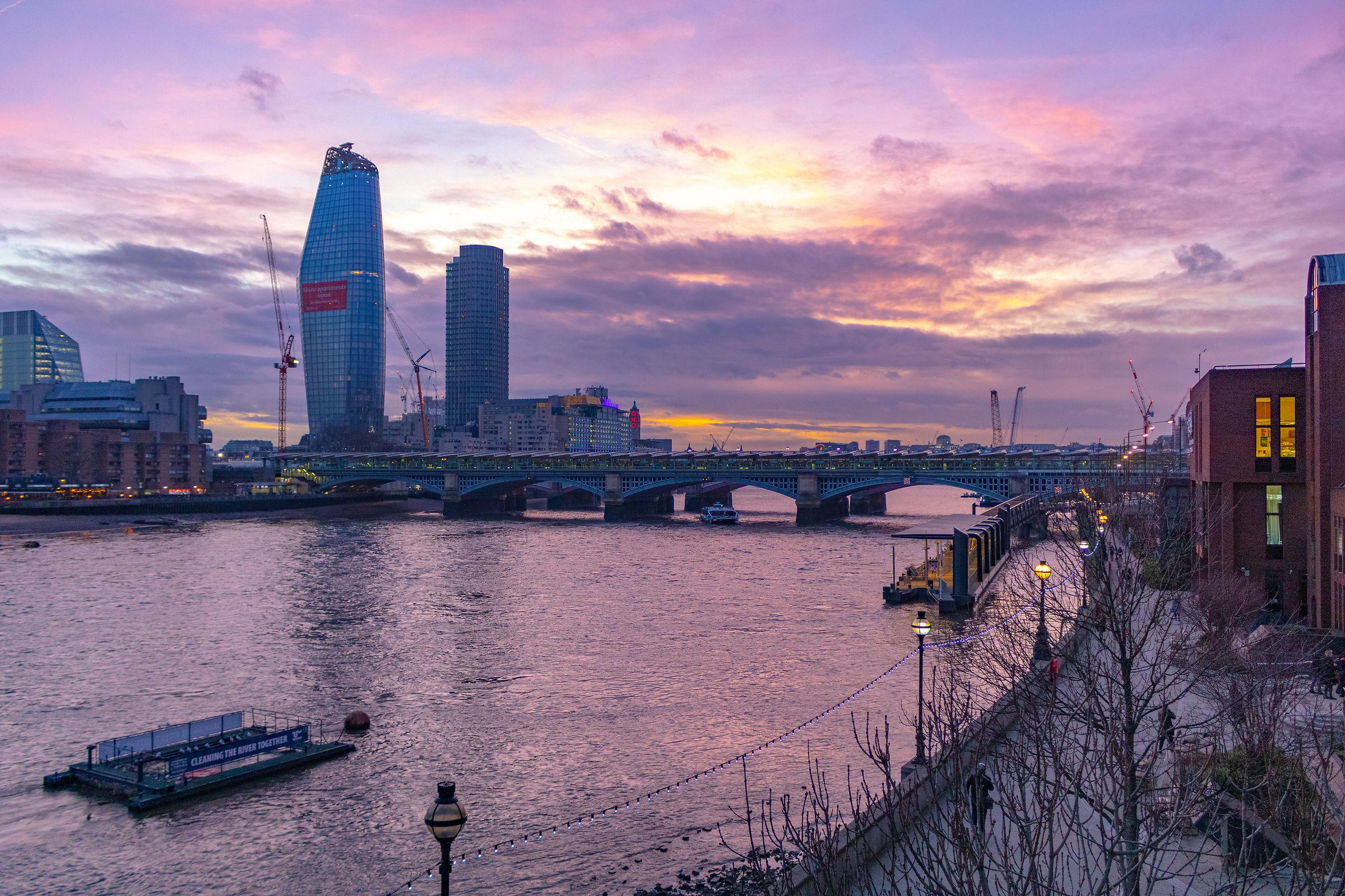 Millennium bridge views...