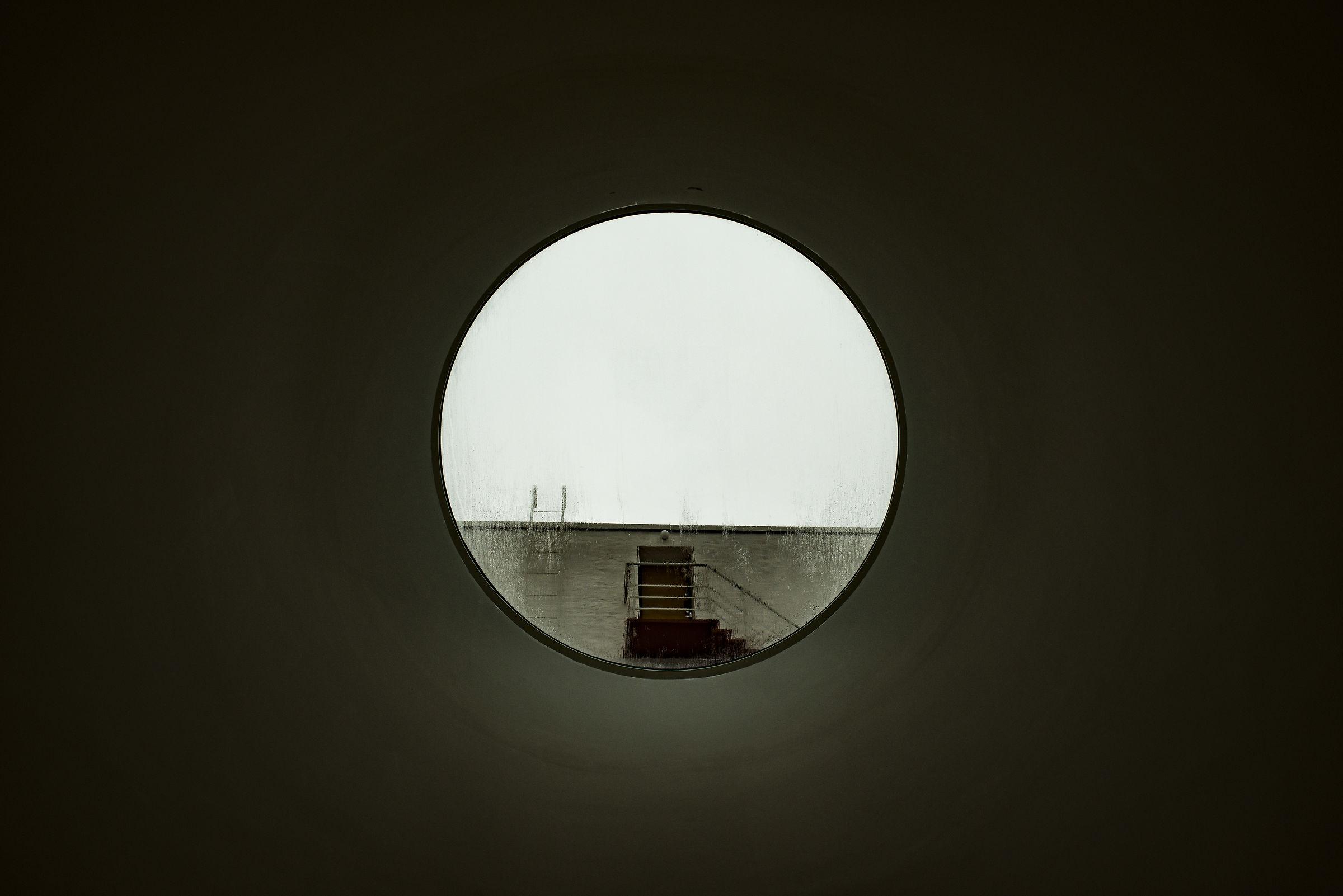window to outside...