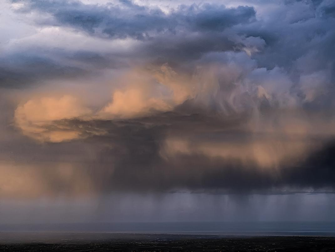 Clouds Melt at sea...