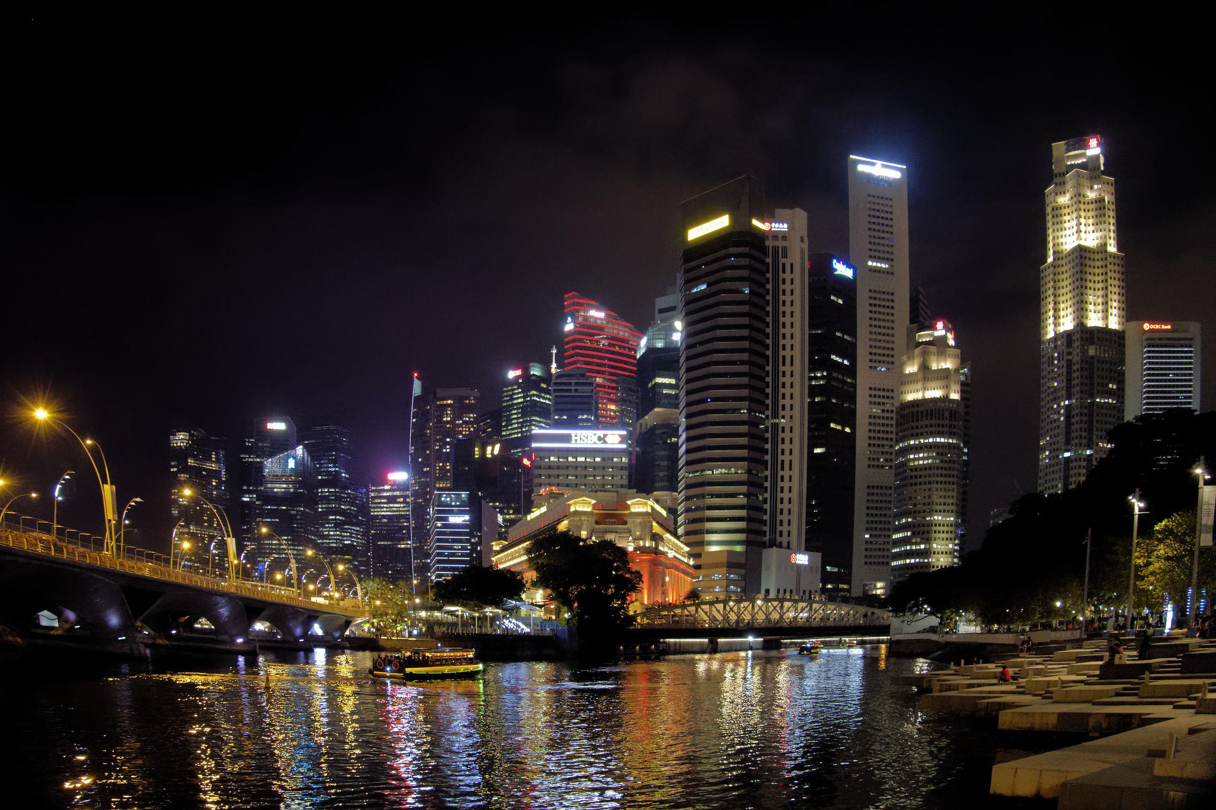 Luci di Singapore...