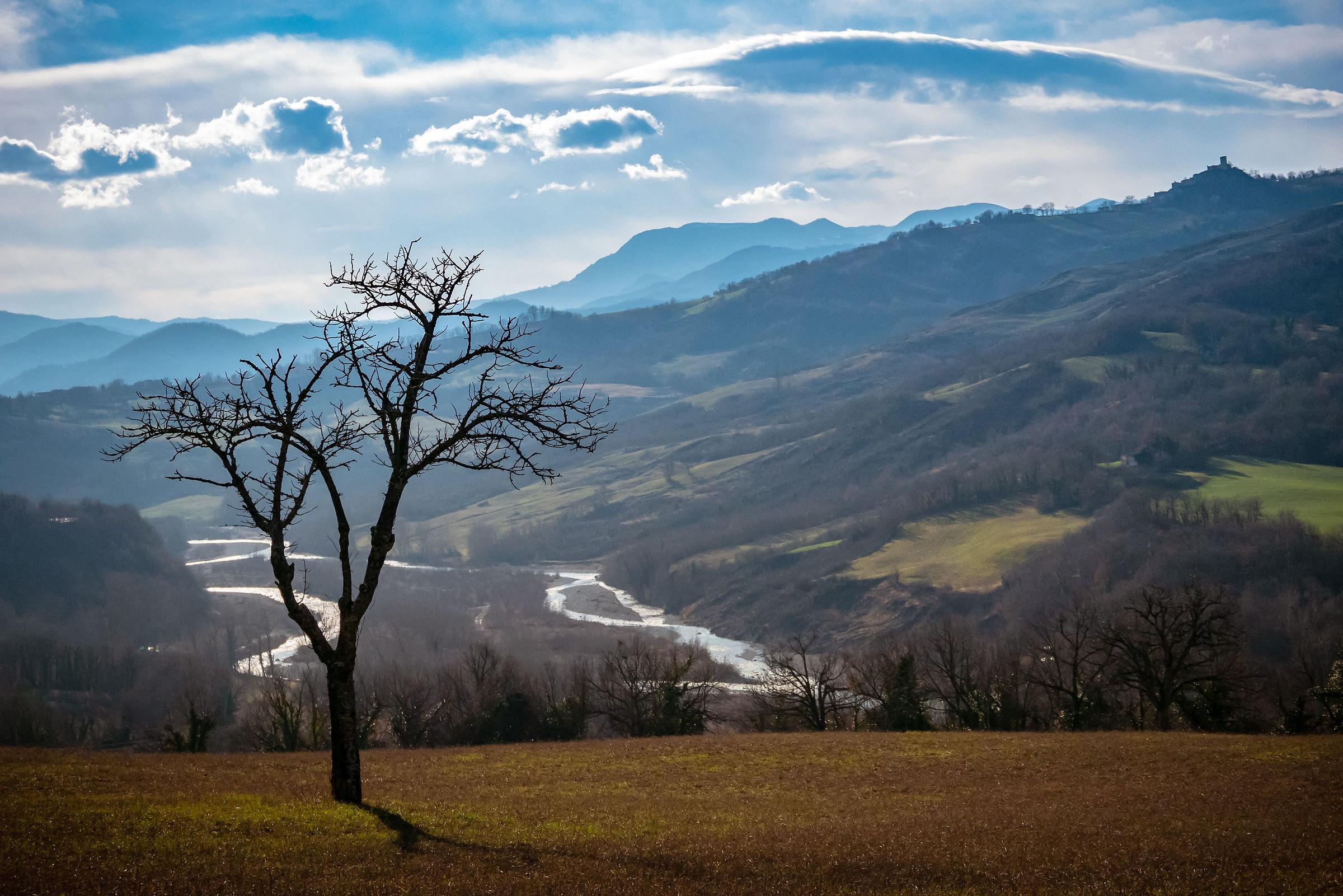The Marecchia River...