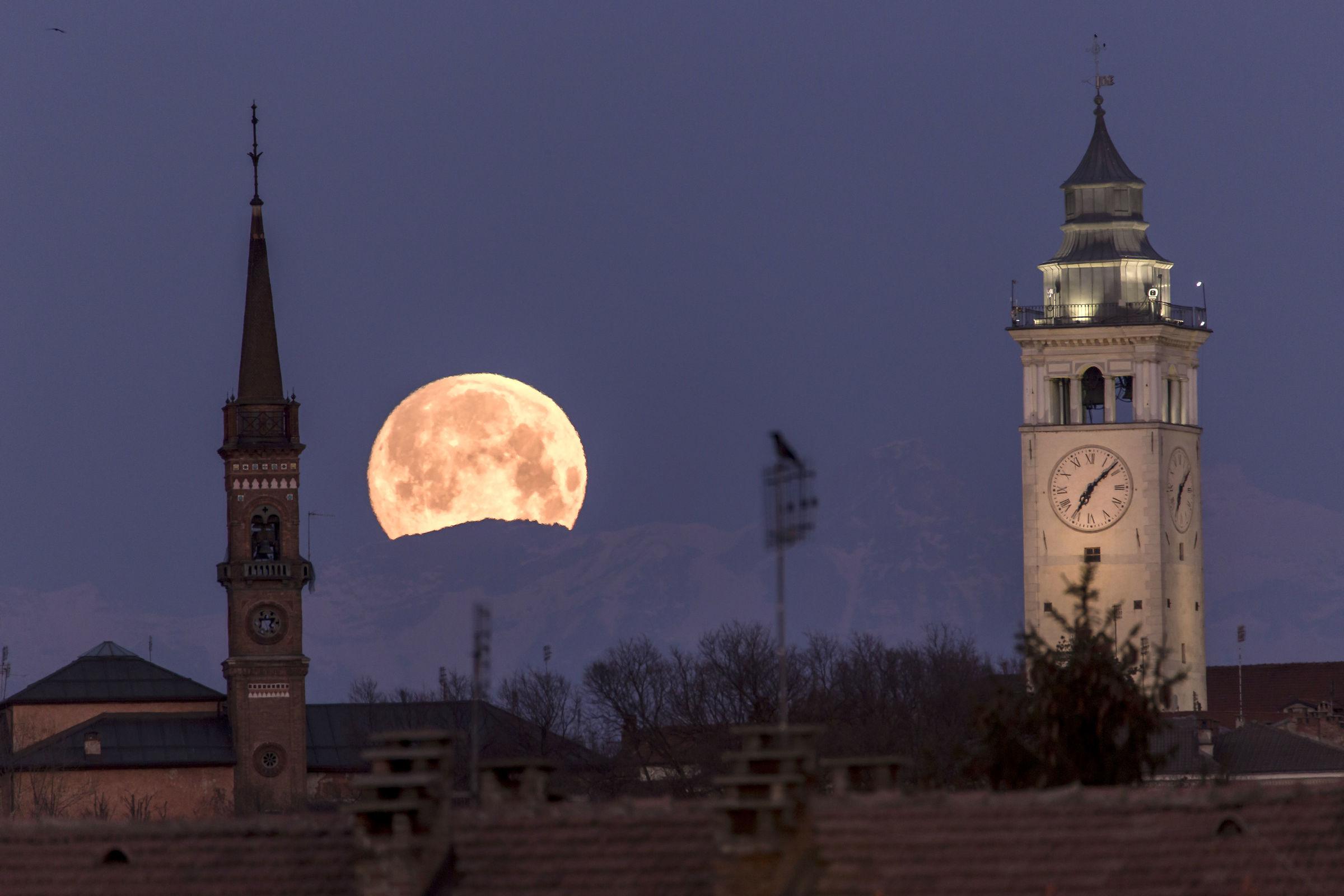 Quasi super-luna...