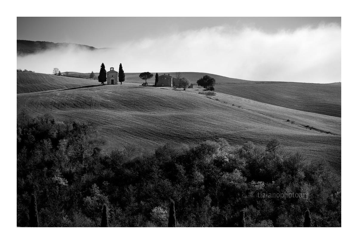 Fog on the hill...