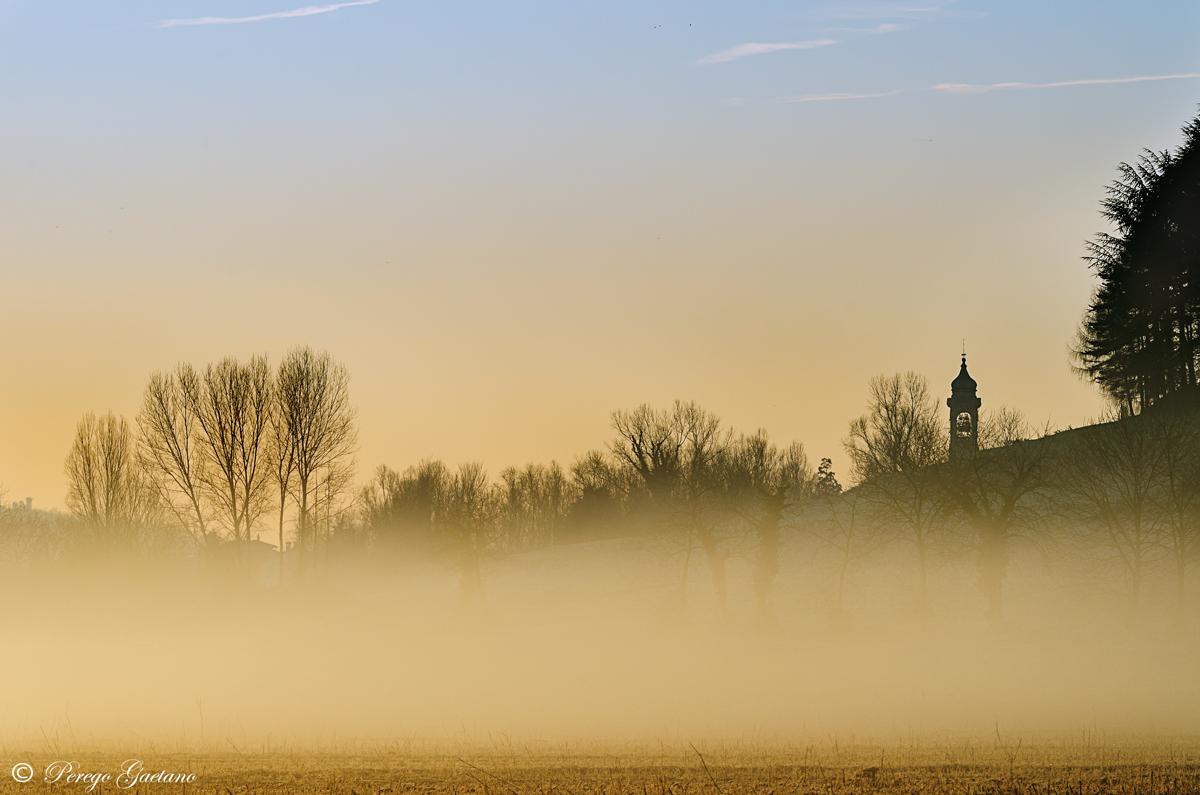 Sunrise at Brivio...