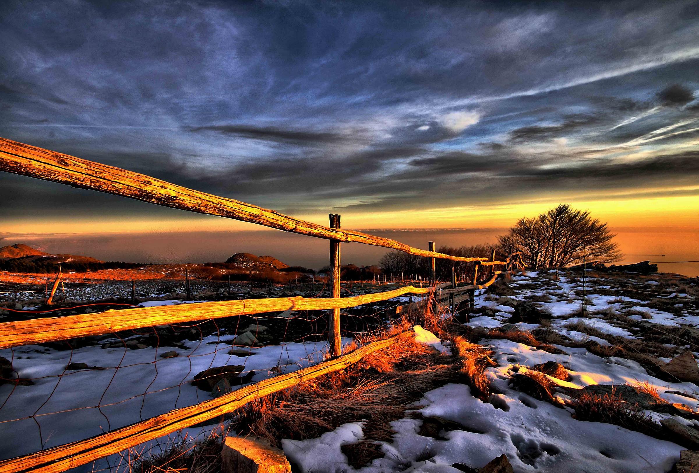 Beigua sunset...
